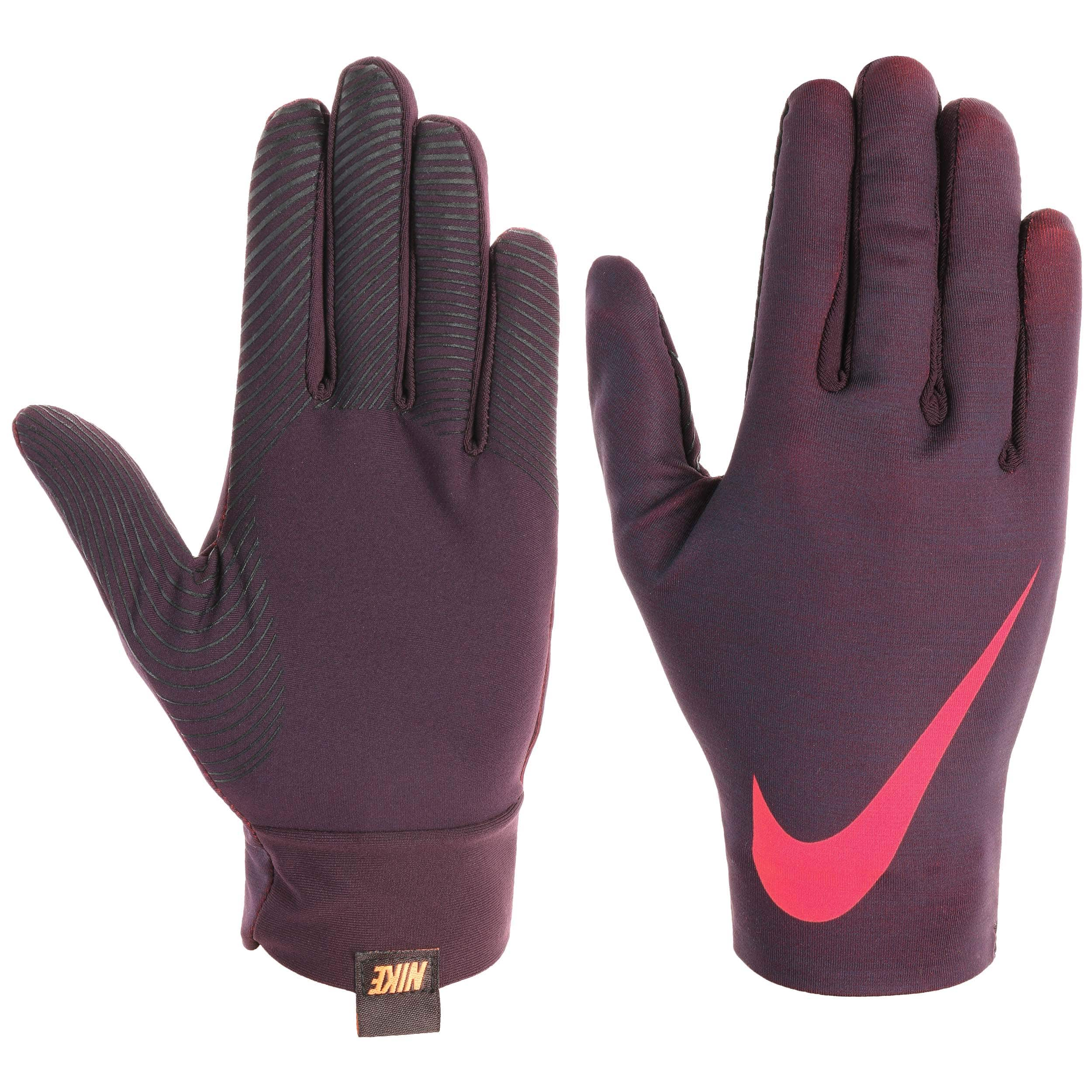 a30fdd58023 ... Guantes Base Layers Touchscreen by Nike - burdeos 3 ...