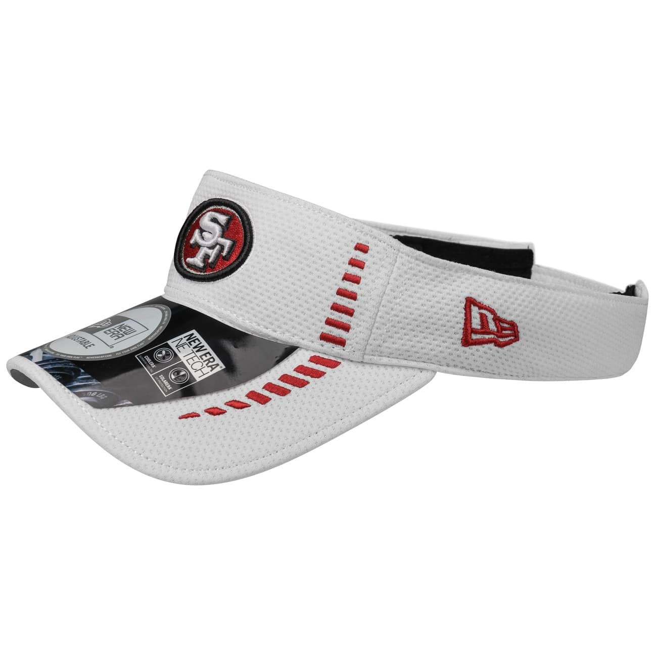 52dfebc24bc83 NFL San Francisco 49ers Visor by New Era - Gorras - sombreroshop.es
