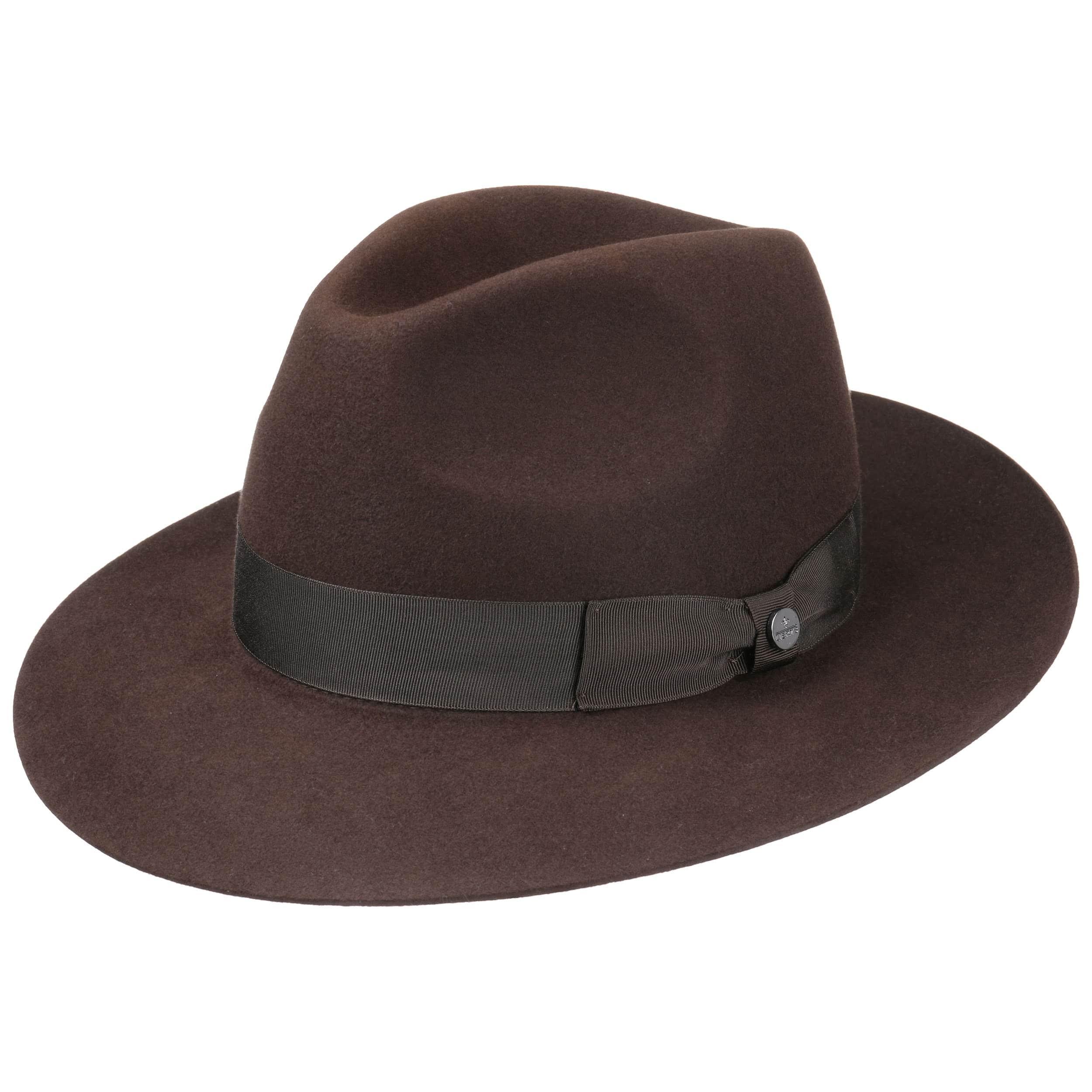 b37098103e023 Sombrero bogart fieltro de pelo lierys sombreros jpg 2500x2500 Marron  modelos de sombreros