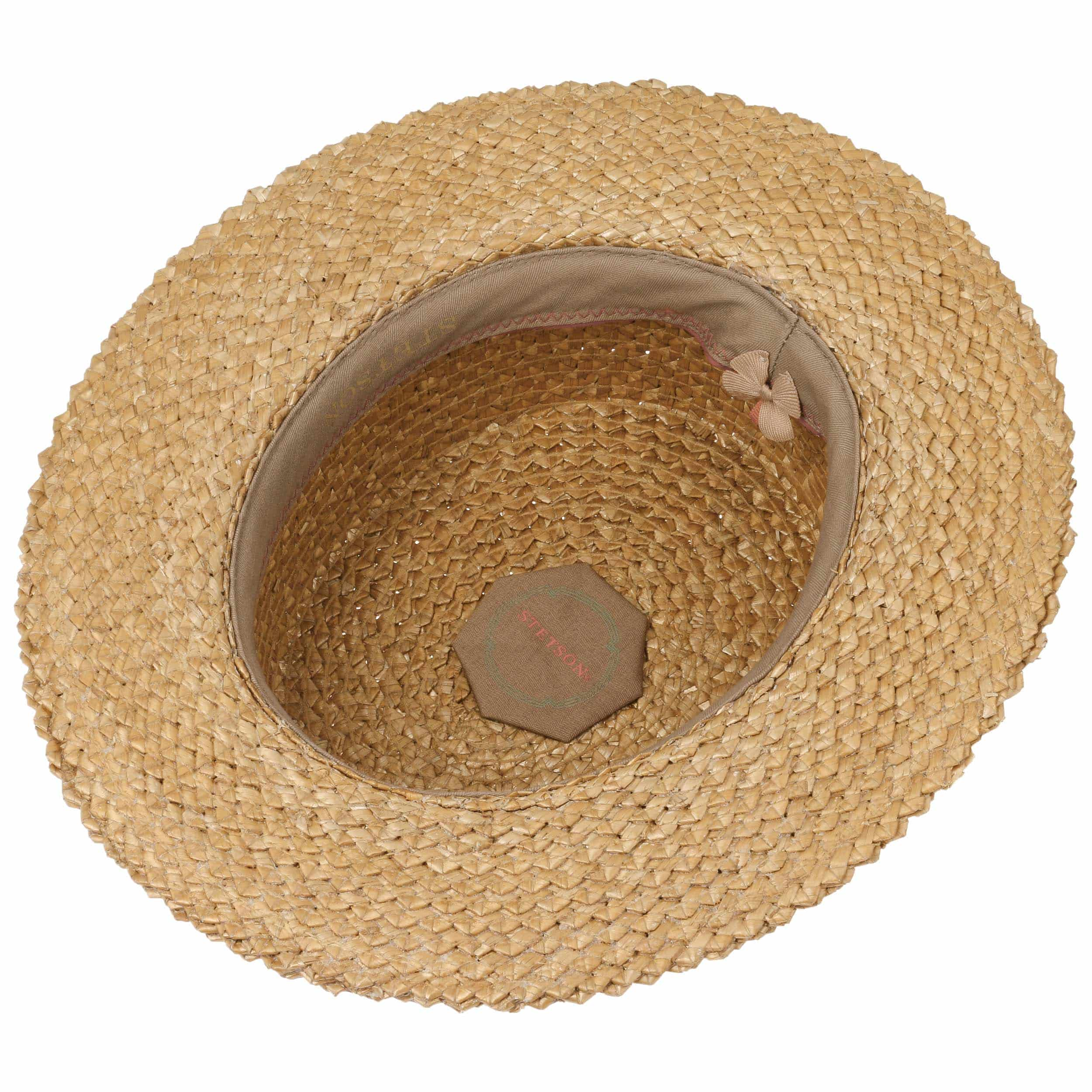 ... Sombrero Canotier Vintage Boater by Stetson - natural 2 ... 24aa400d0ad