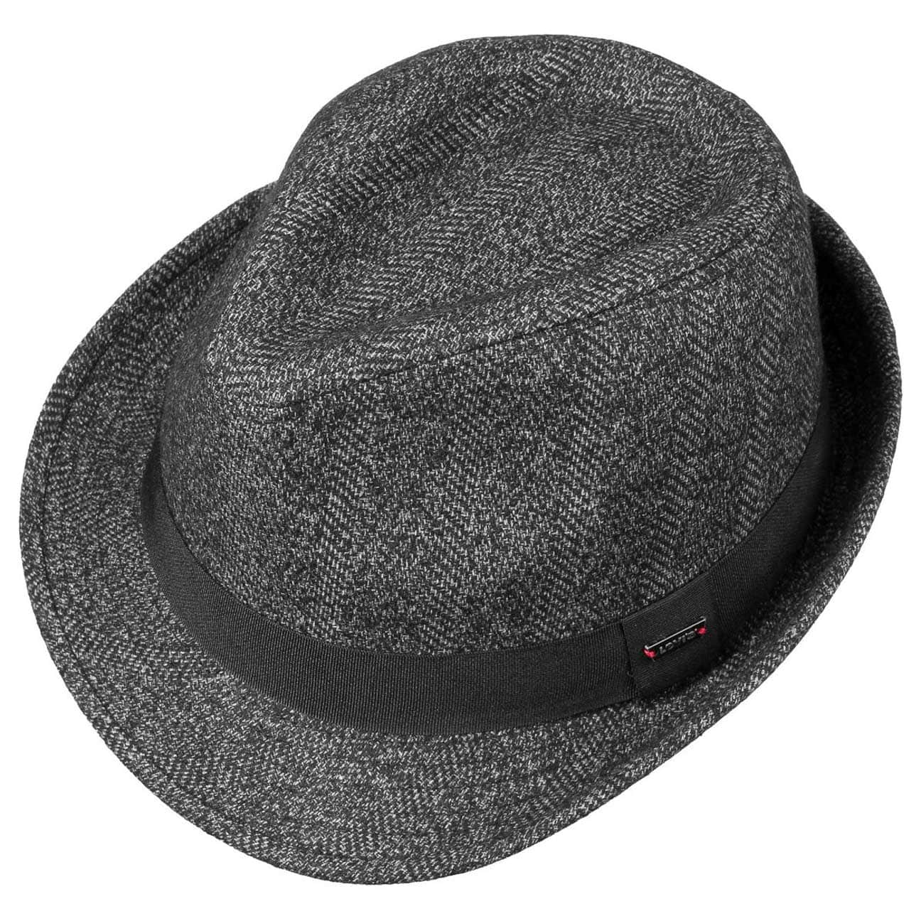 Sombrero Capino Wool Trilby by Levi´s - Sombreros - sombreroshop.es 85543c9816d