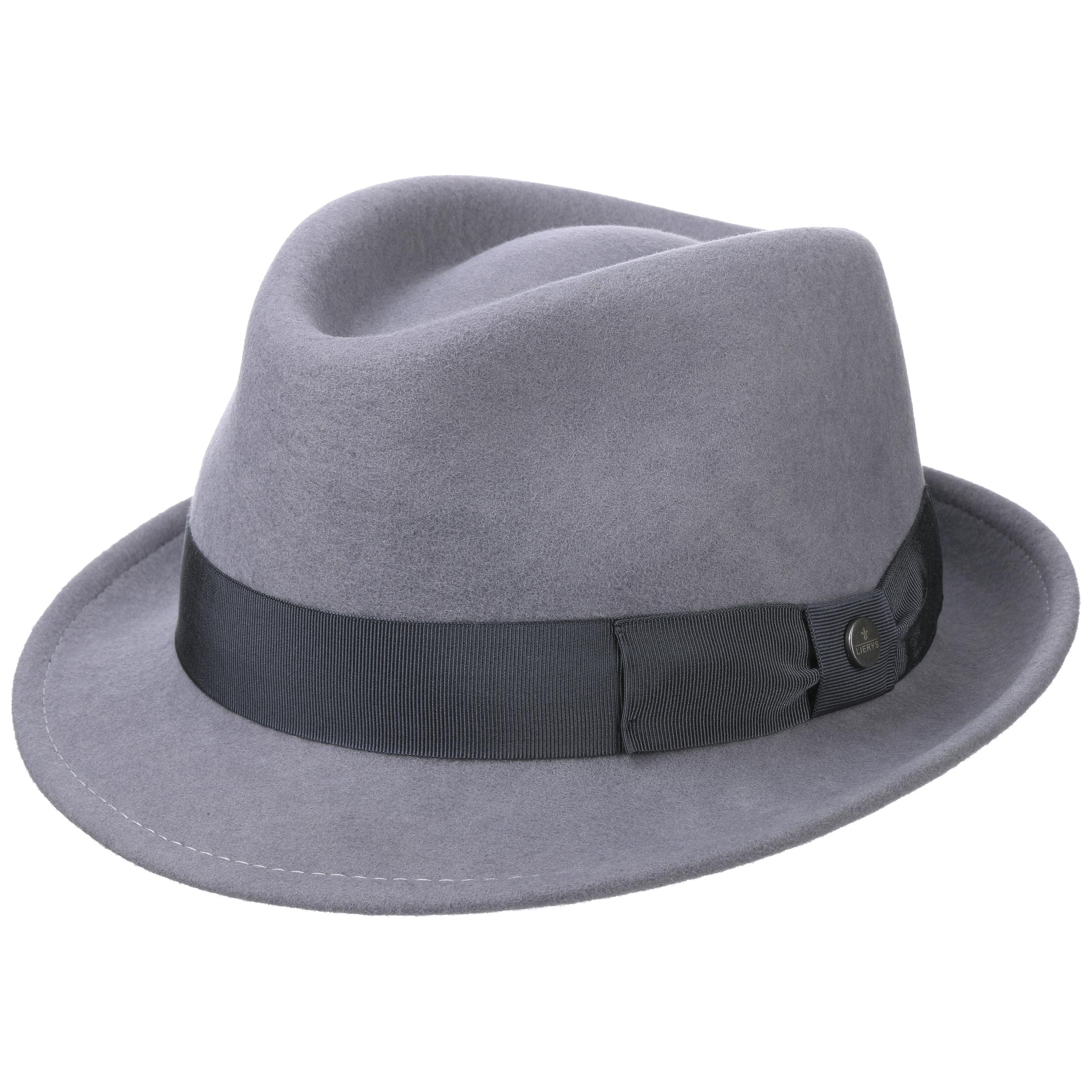 Sombrero Classic Wool Trilby by Lierys - Sombreros - sombreroshop.es d11700c02e2