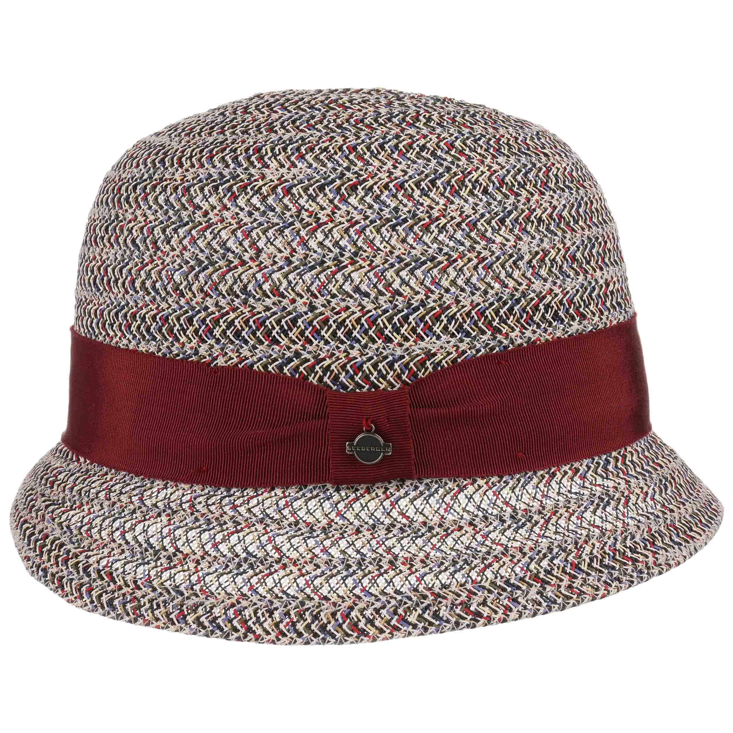 7cbe021fe5243 Sombrero Cloché Multicolour by Seeberger - Sombreros - sombreroshop.es