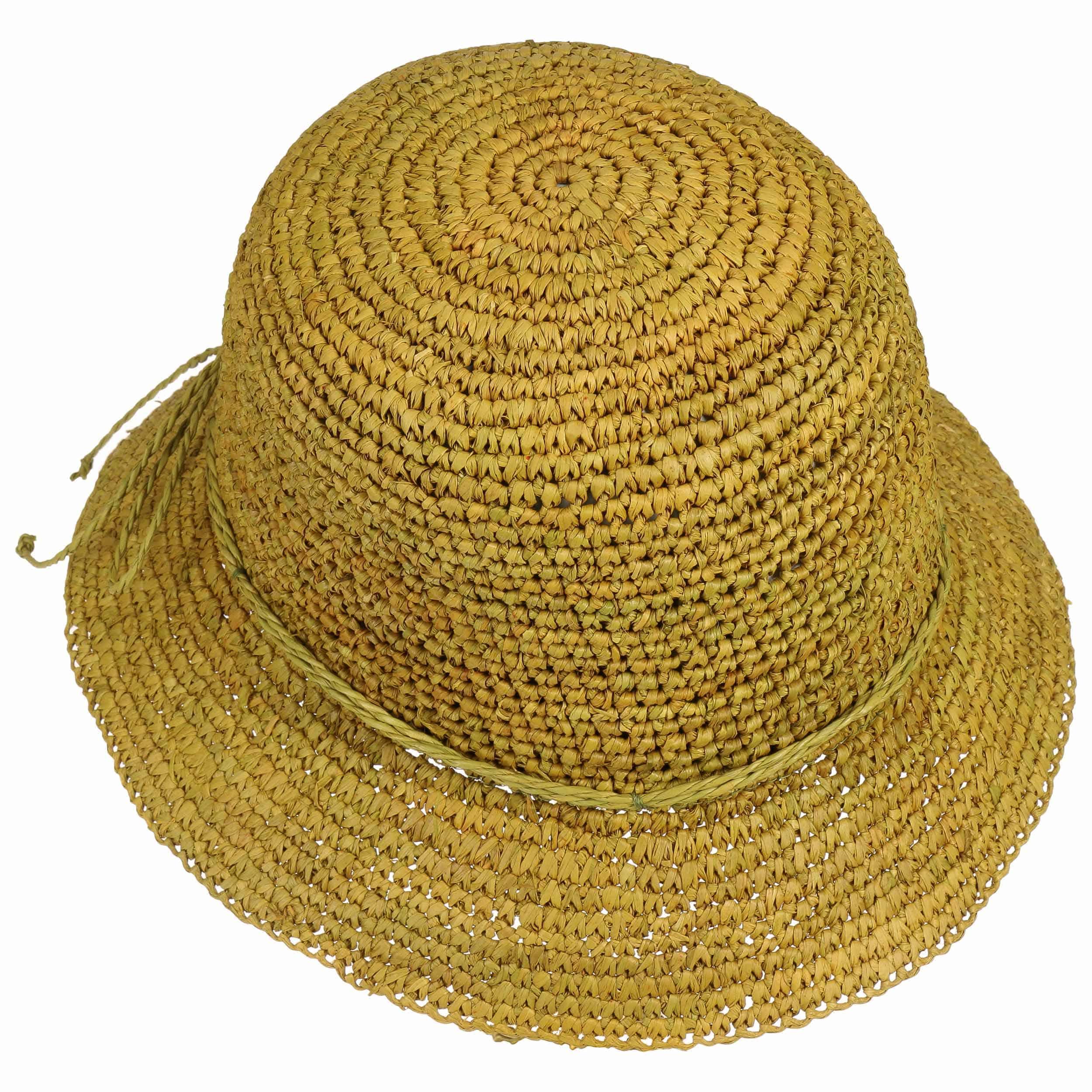 Sombrero Cloché Paja Jessie by Seeberger - Sombreros - sombreroshop.es f41d07e0d14d