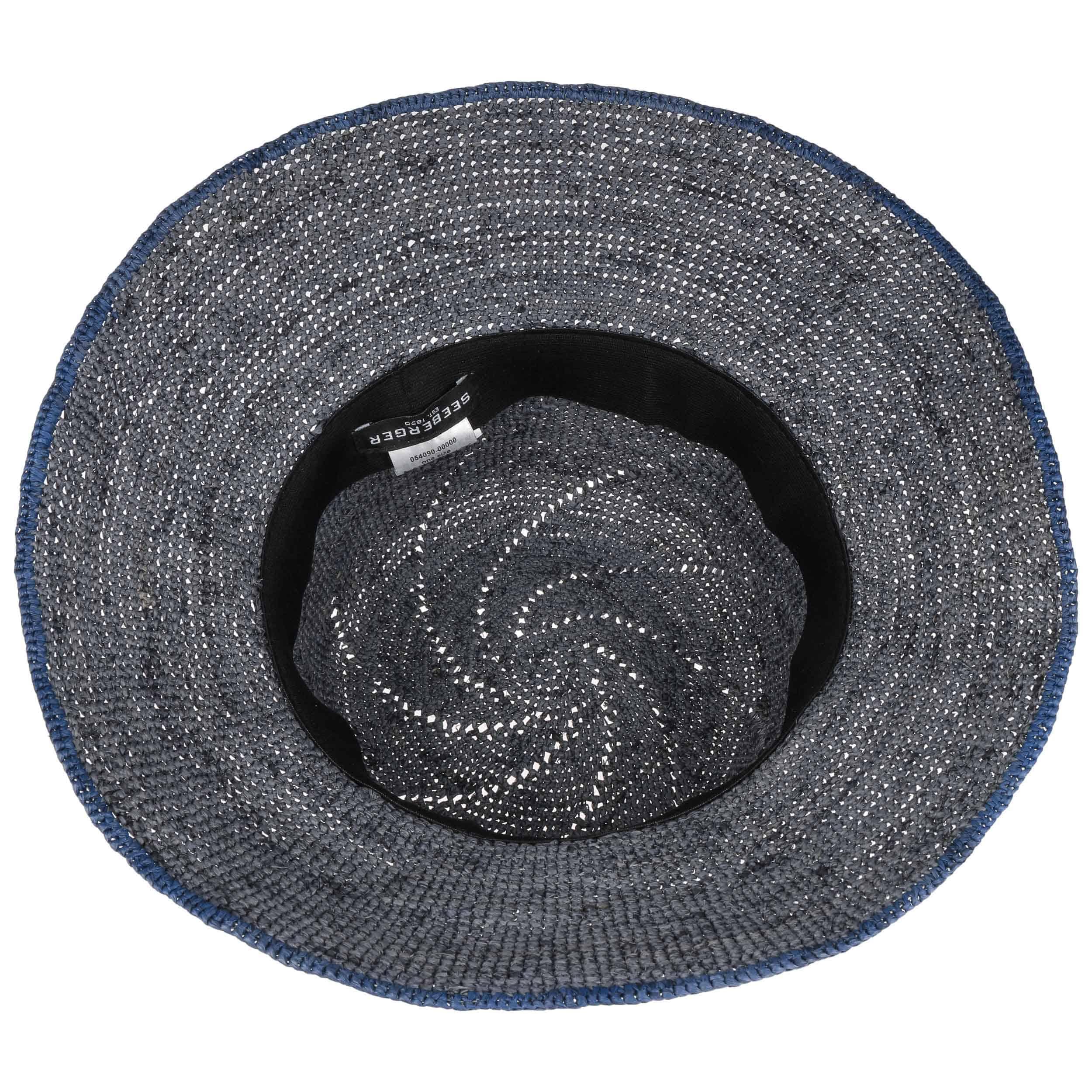 Sombrero Cloché de Paja Eliza by Seeberger - Sombreros - sombreroshop.es 1296c9aaee82