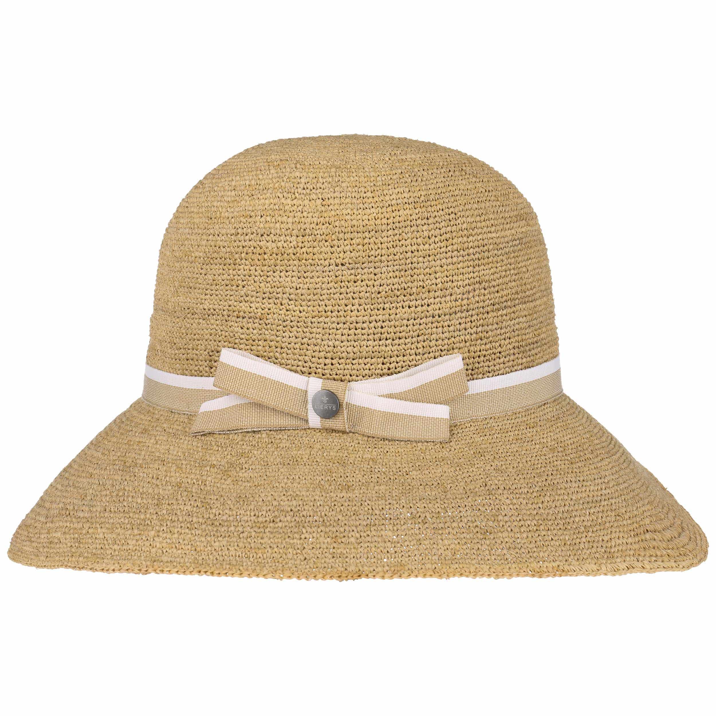 Sombrero Cloché de Rafia Crochet by Lierys - Sombreros - sombreroshop.es b2a85fc66cb