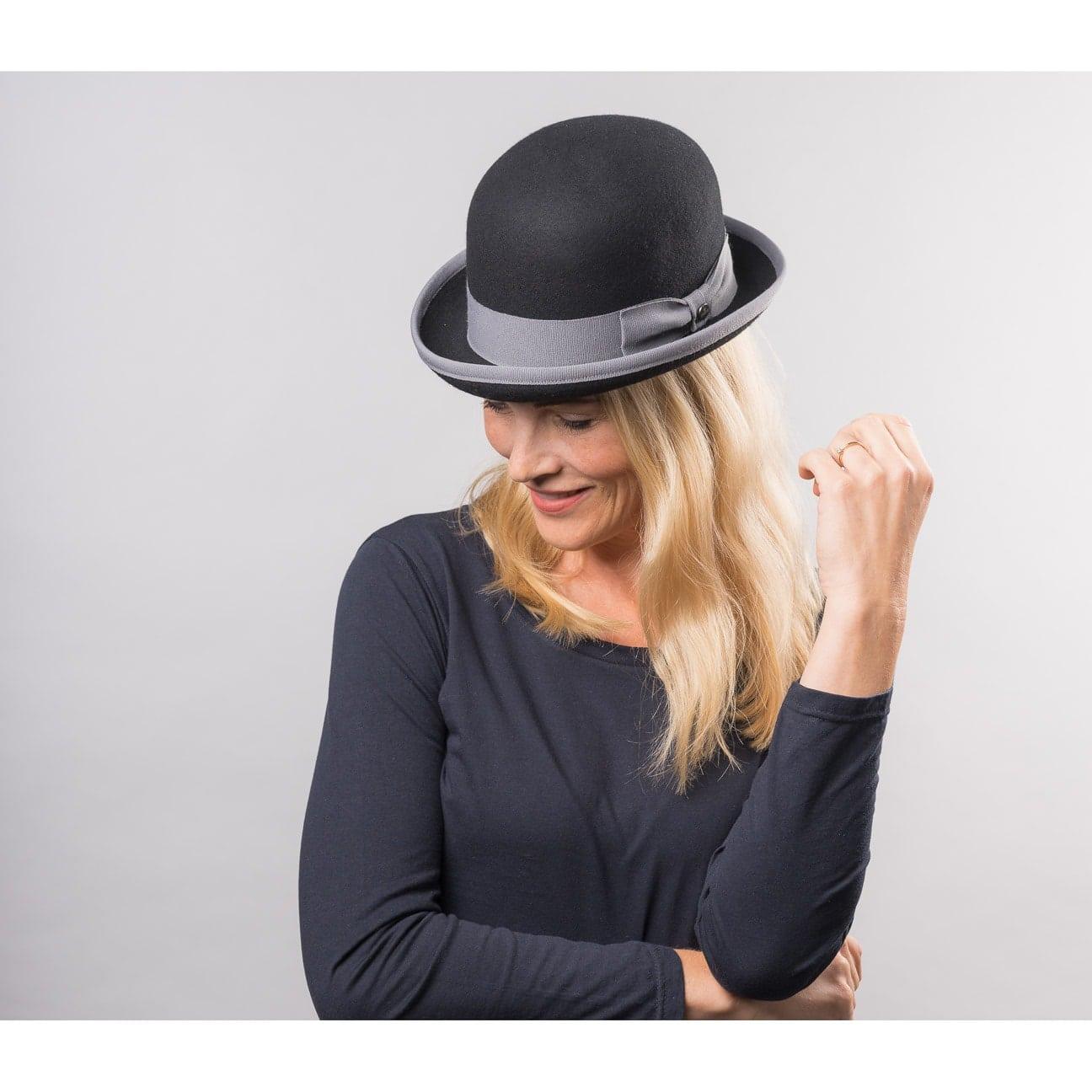 Sombrero Fieltro Bombín Twotone by Lierys - Sombreros - sombreroshop.es 94791542805