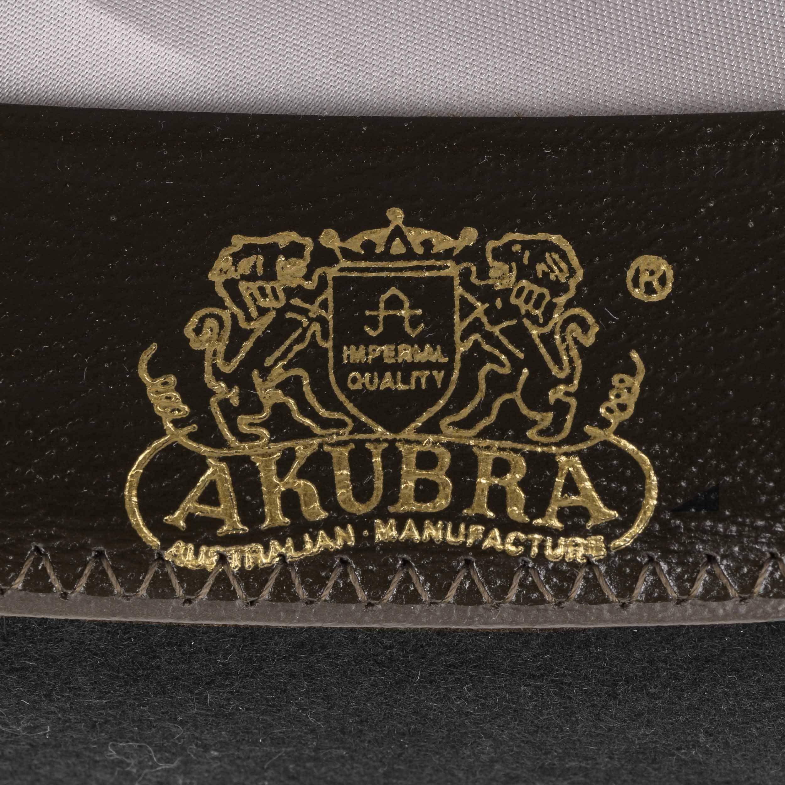 ... Sombrero Fieltro Leisure Time by Akubra - negro 6 ... d823b151efa