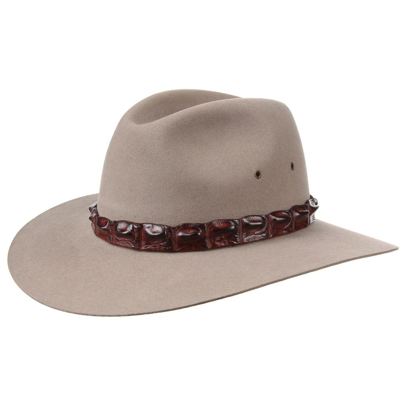 bf388b6e39225 Sombrero Fieltro Pelo Coolabah by Akubra - Sombreros - sombreroshop.es