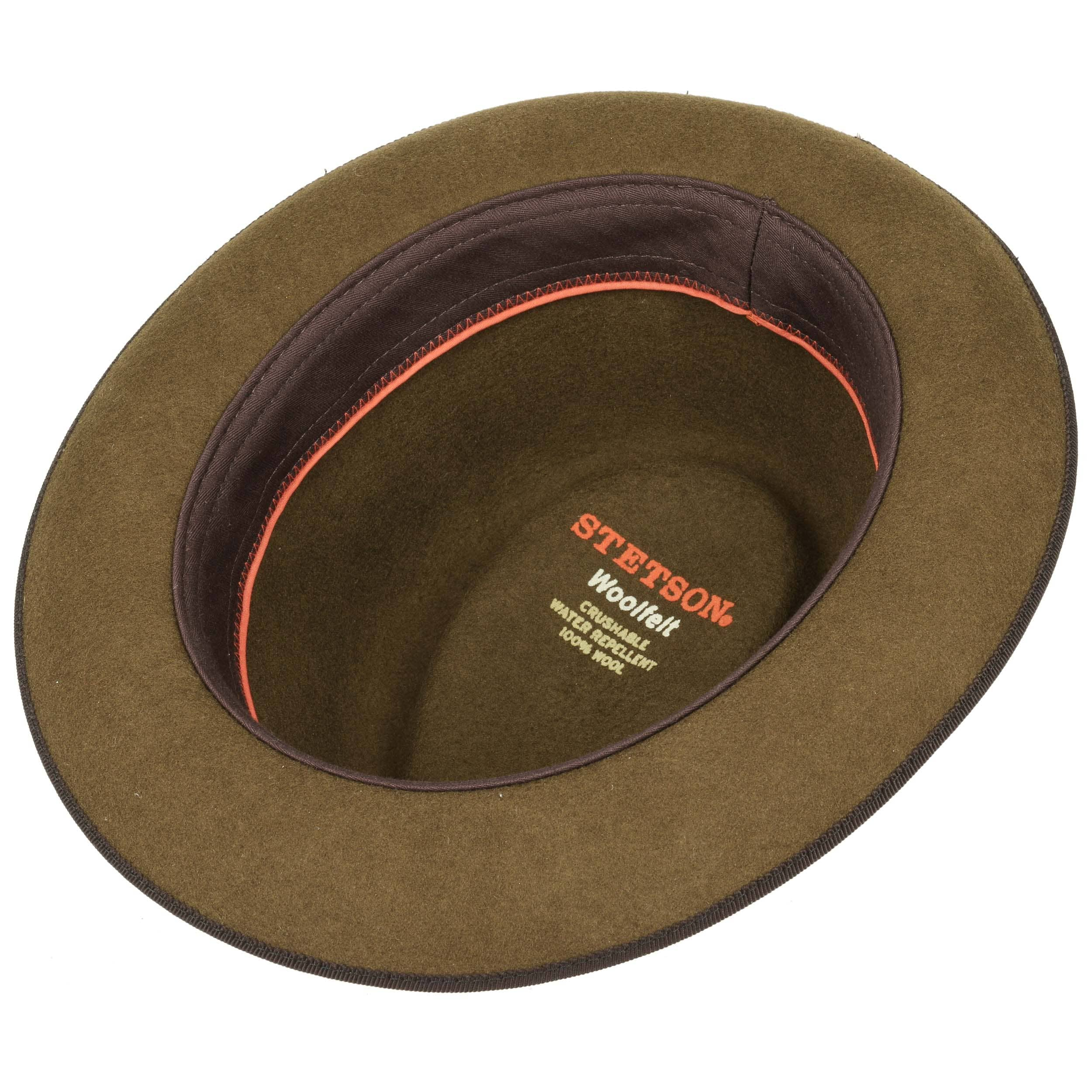 67be4194c737b Sombrero Fieltro Pulasco Player by Stetson - Sombreros - sombreroshop.es
