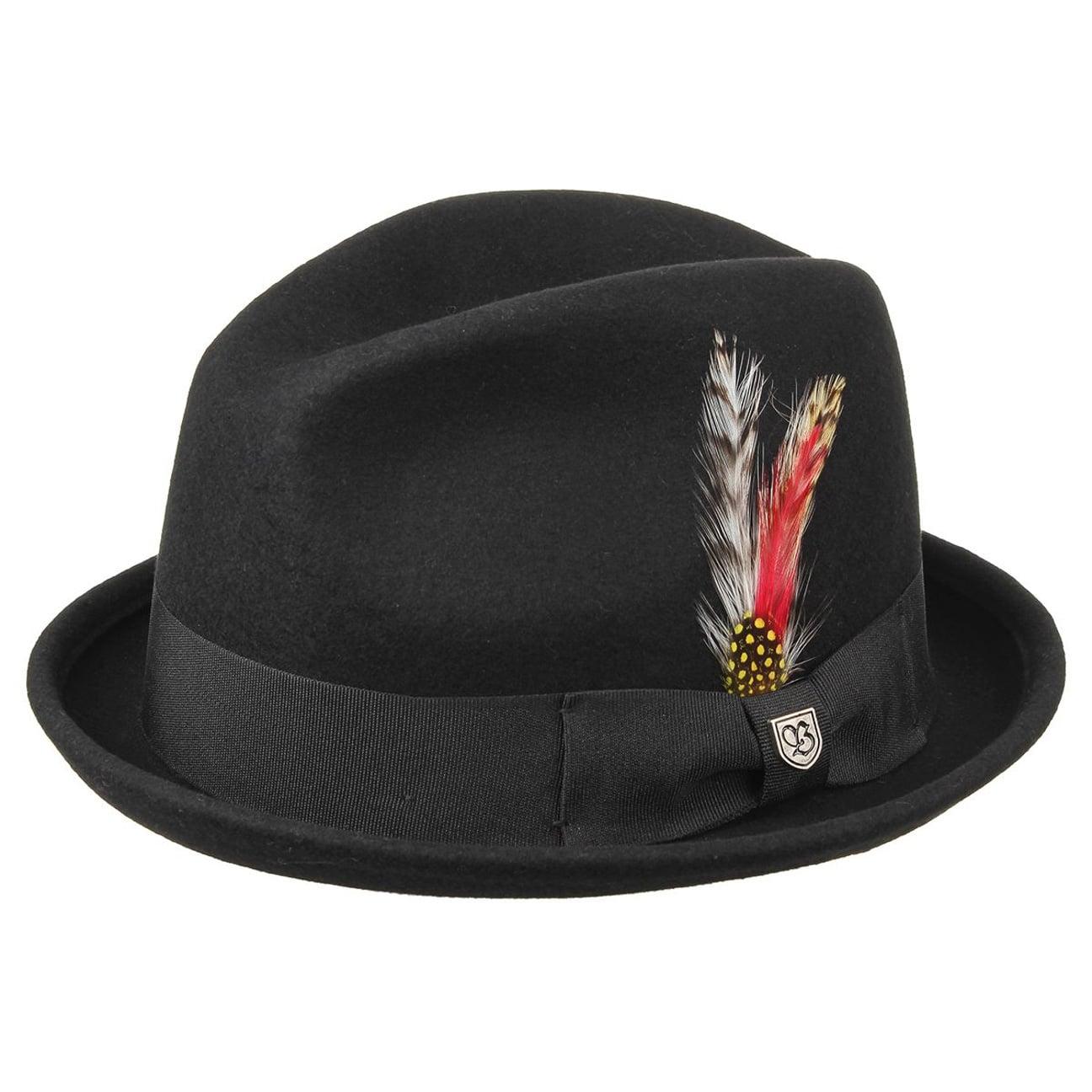 Sombrero Gain Wool Player by Brixton - Sombreros - sombreroshop.es 8e0c020793e