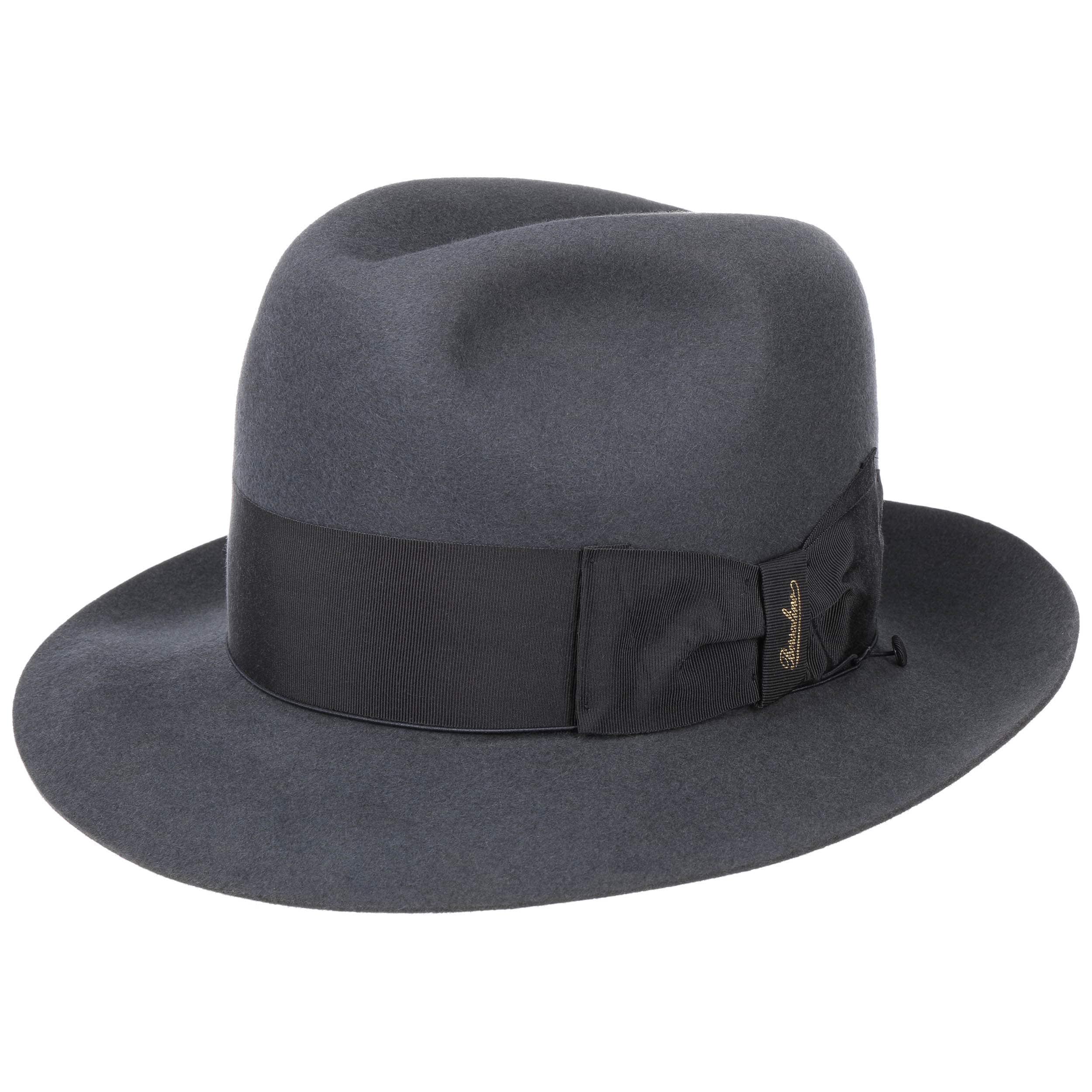... Sombrero Humphrey Bogart Authentic by Borsalino - antracita 5 77fb258f21e