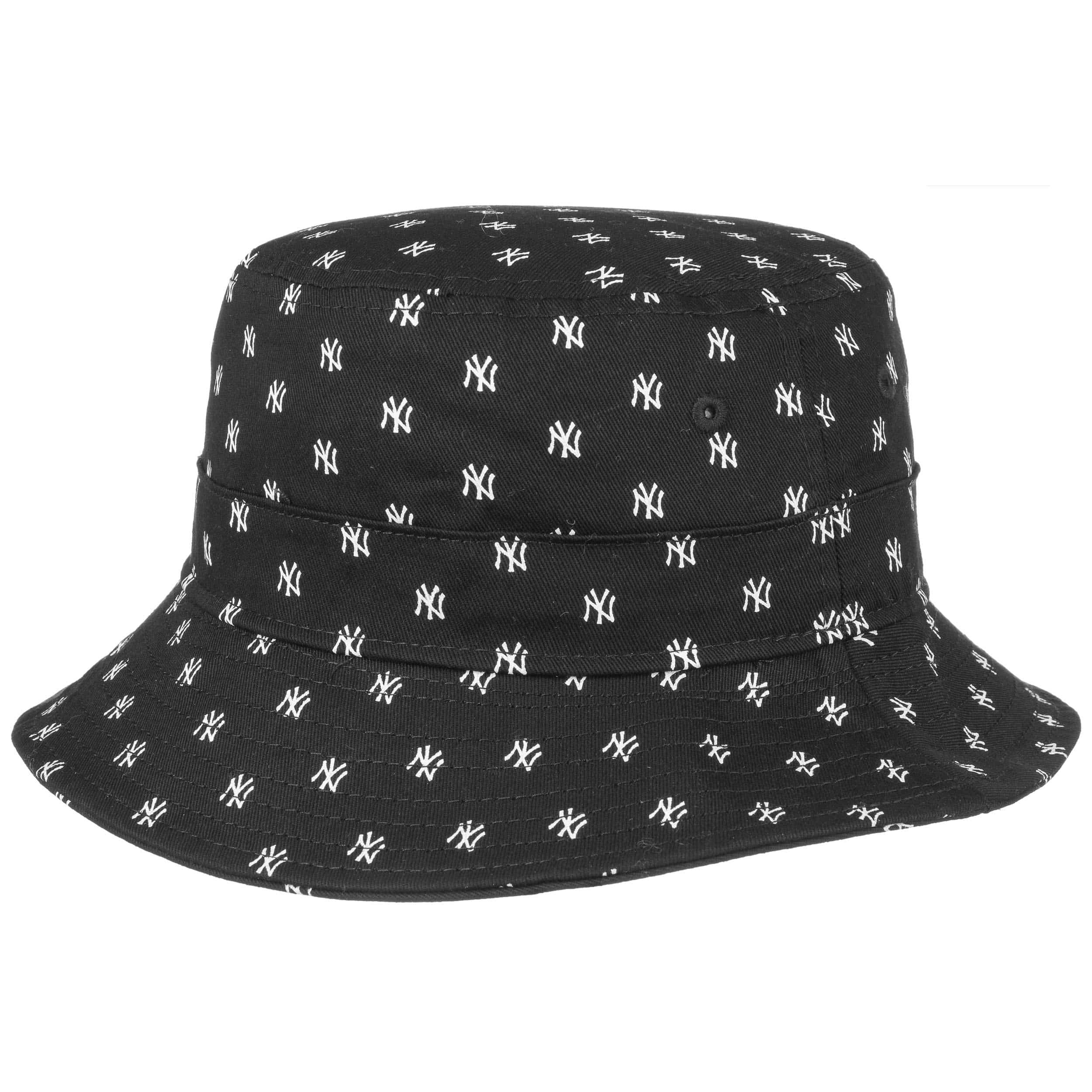 18b7466ae04ab ... Sombrero Junior Monogram Yankees by New Era - negro 3 ...