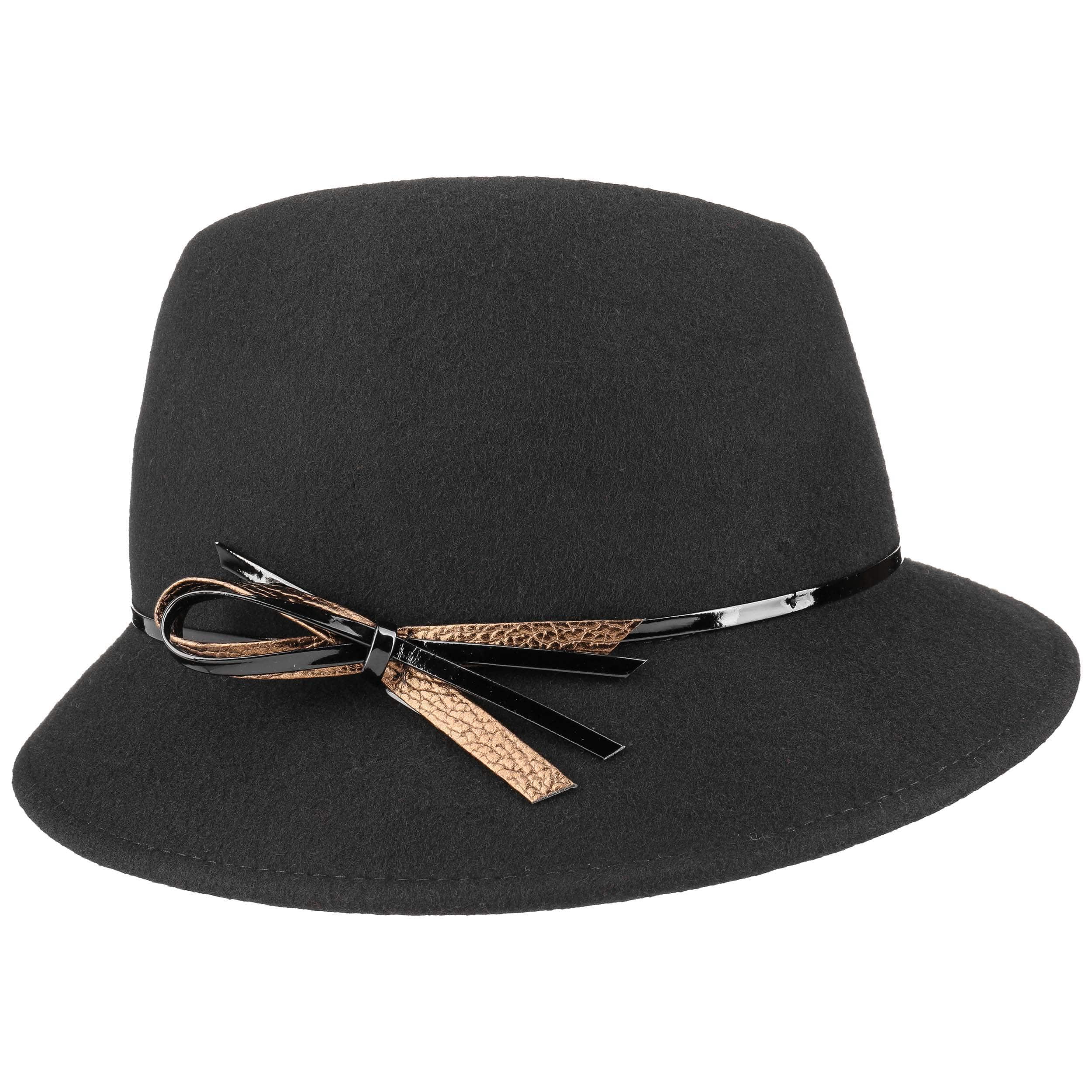 e5b619b1b9687 Sombrero Mujer con Lazo Lacado by Lierys - Sombreros - sombreroshop.es