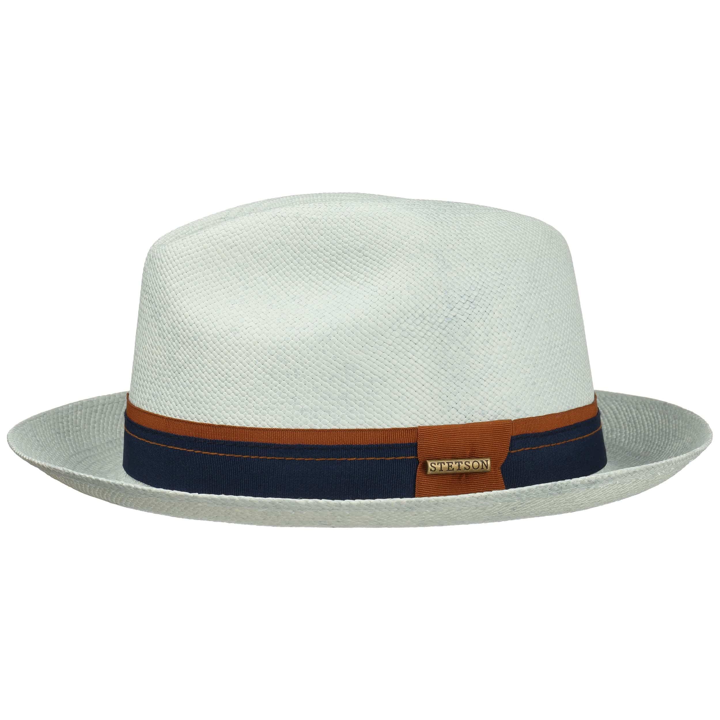 ... Sombrero Panamá Fedora 1 by Stetson - celeste 4 ... 918e49d62f6