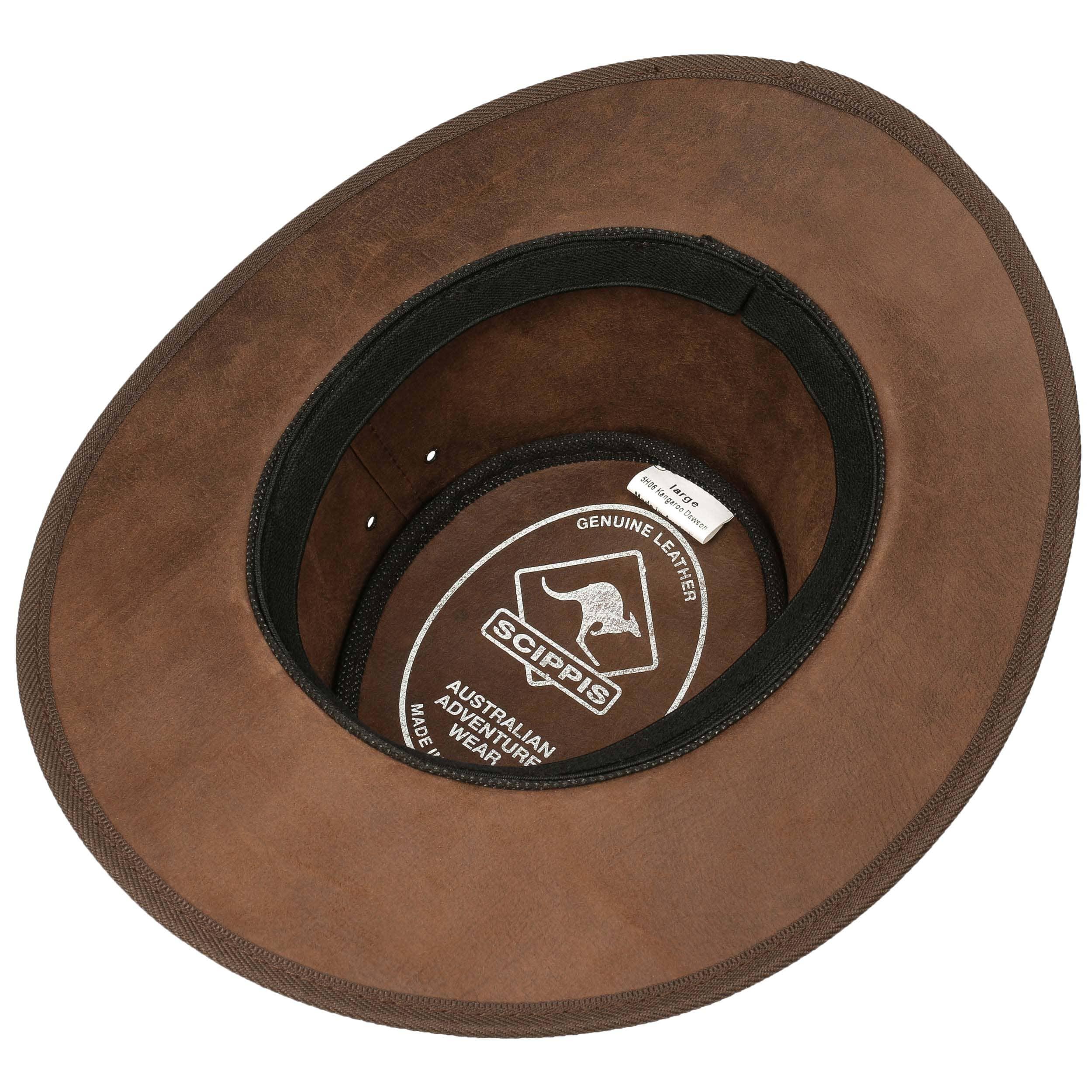 Sombrero Piel Dawson Kangaroo by Scippis - Sombreros - sombreroshop.es e9e2dd2e5d3