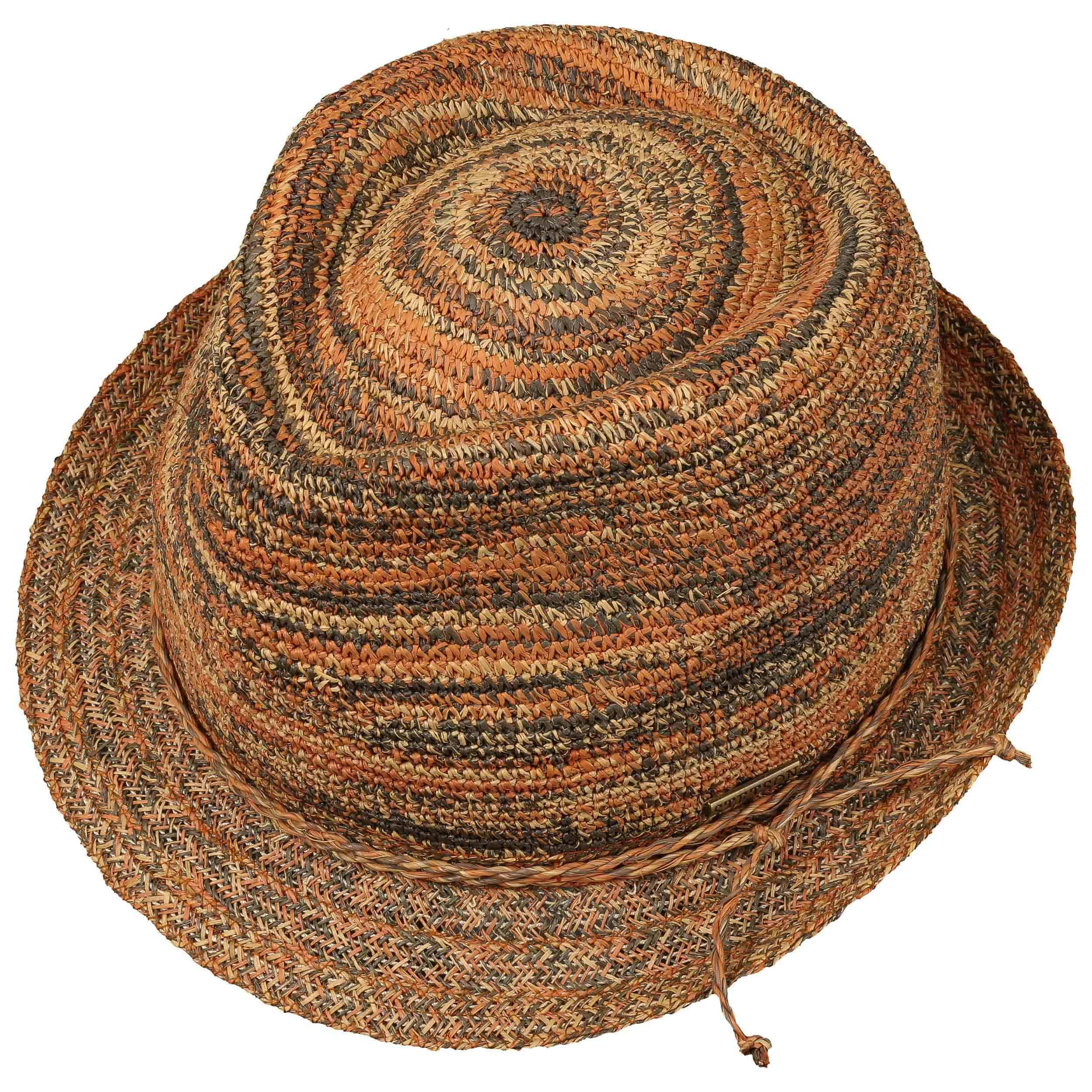 Sombrero Raffia Crochet Trilby by Stetson - Sombreros - sombreroshop.es 7833fe51371