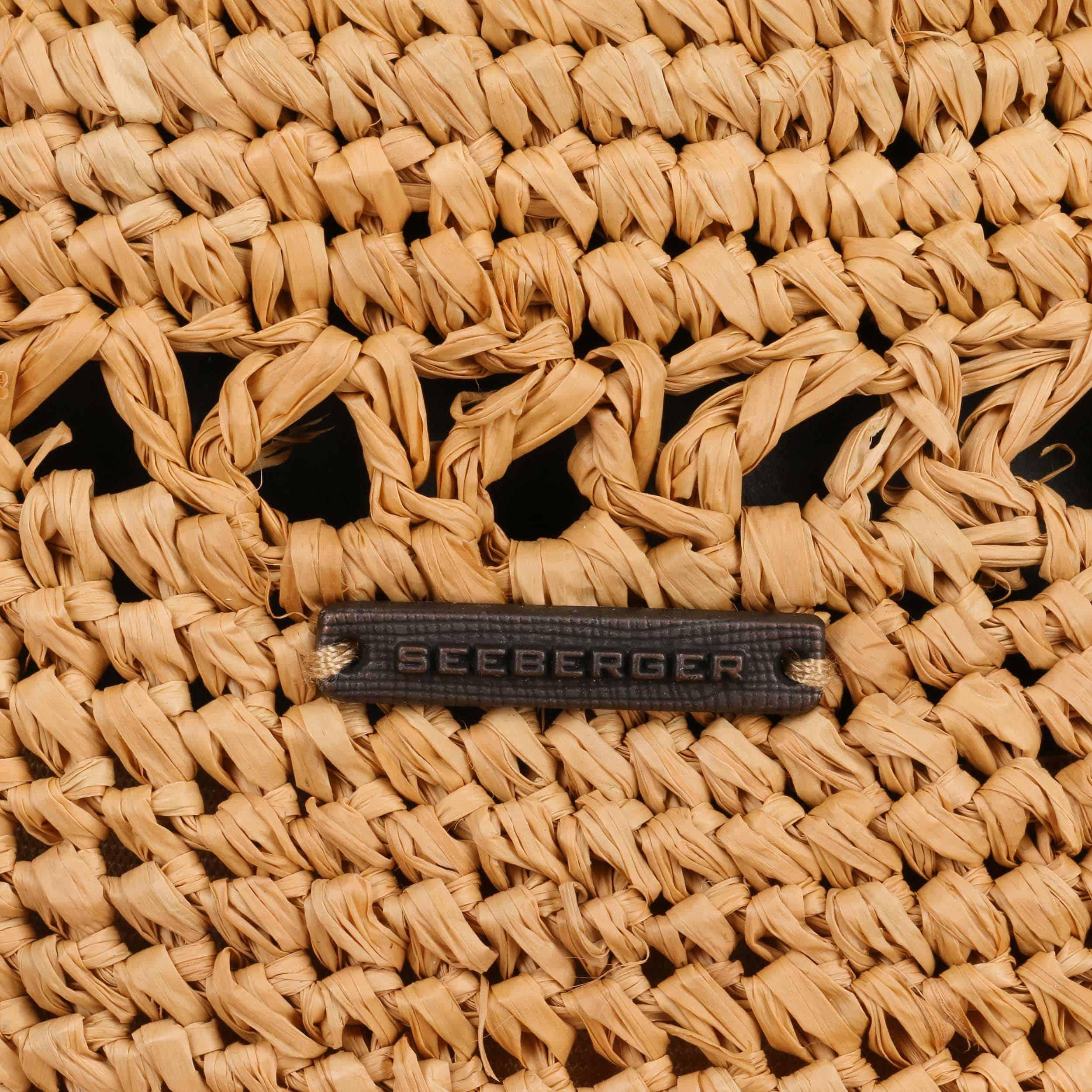 Sombrero Rafia Crochet Trilby by Seeberger - Sombreros - sombreroshop.es 95bb91357738