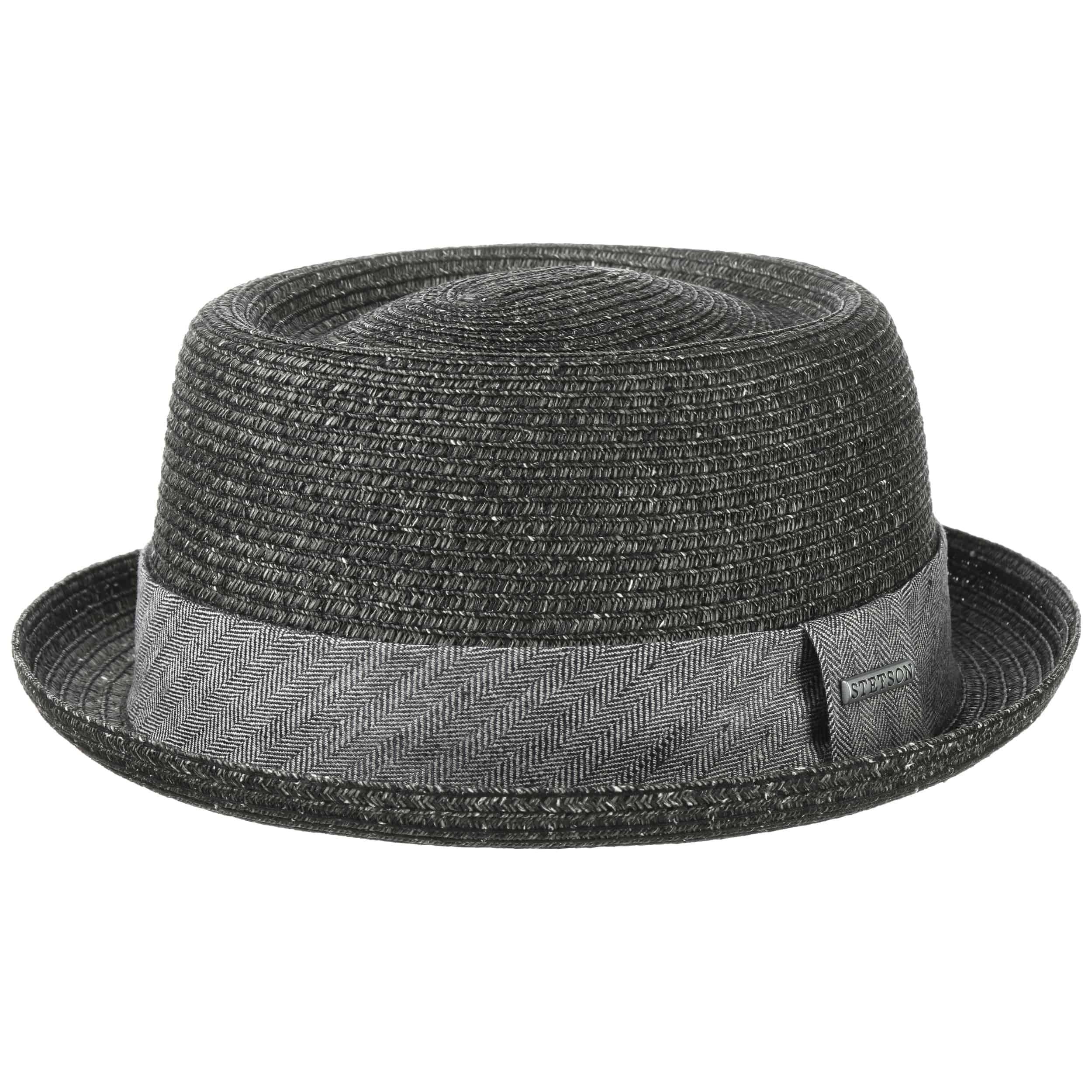 Sombrero de paja tipo /«Pork pie/» Hawkins