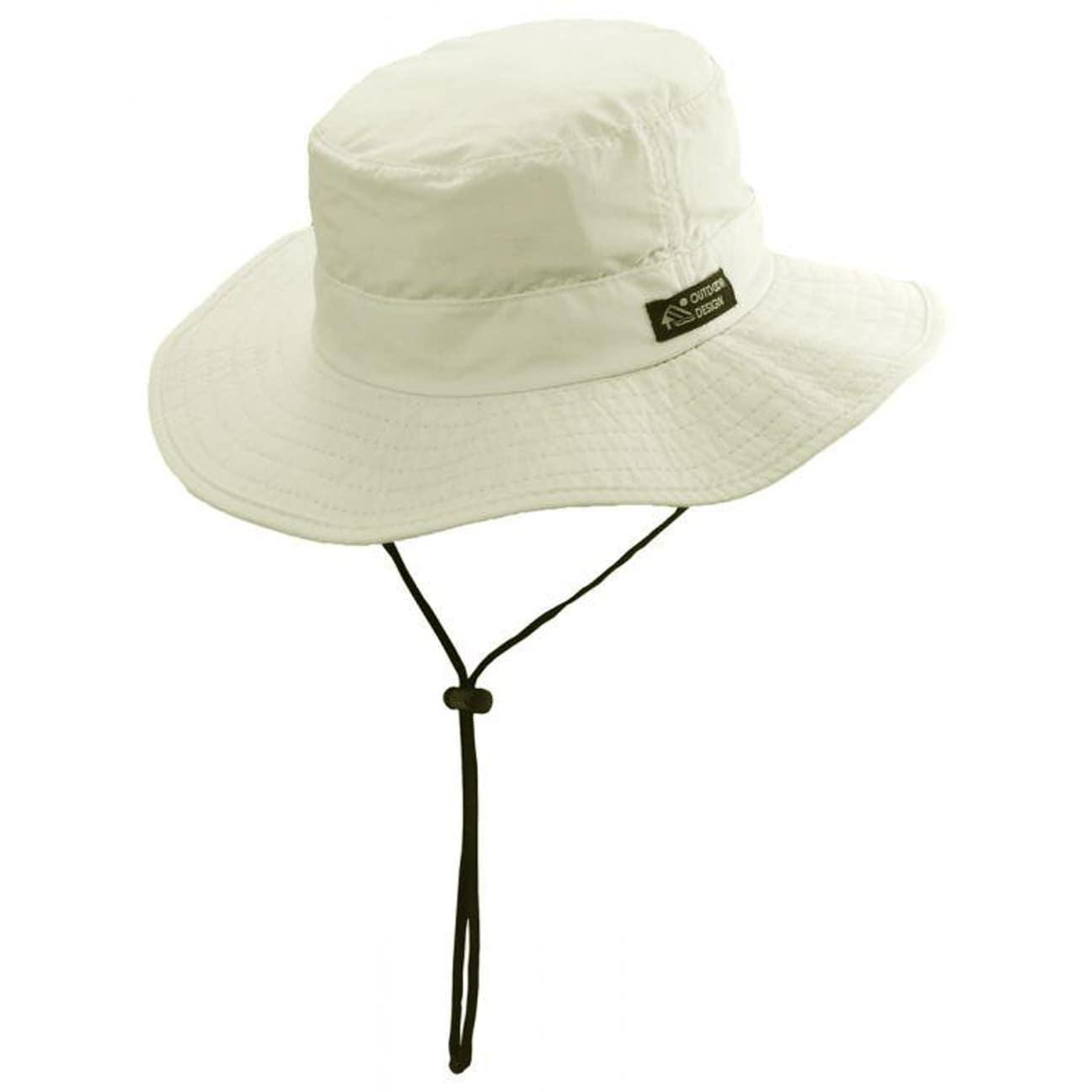 ... Sombrero Supplex con Banda Barbilla - blanco crema 1 720cc20f736