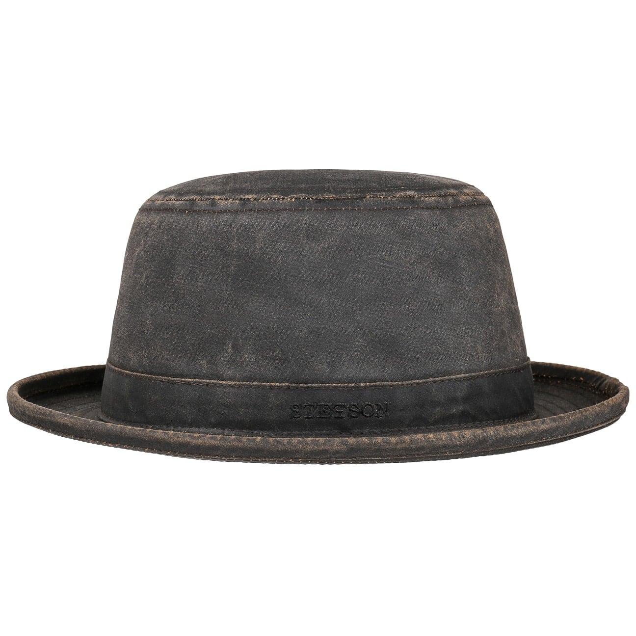 Sombrero Top Hat Pork Pie by Stetson - Sombreros - sombreroshop.es e42fcc37389