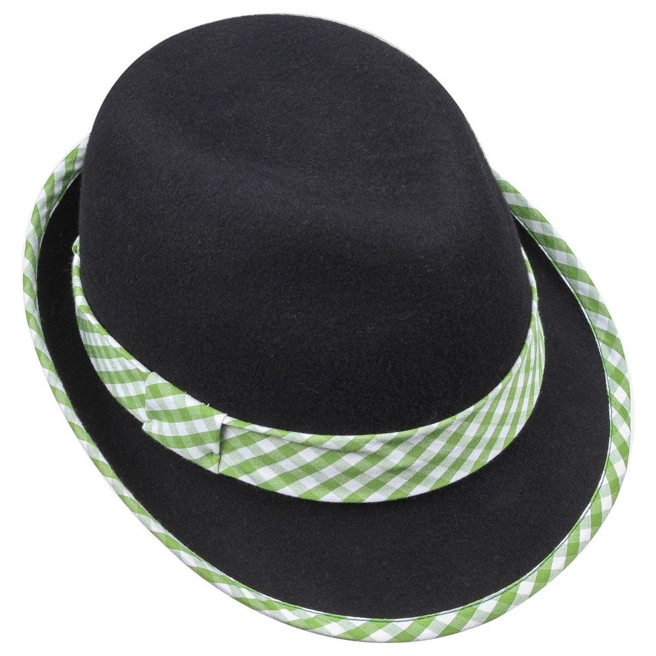 Sombrero Tradicional con Cuadros de Mujer - Sombreros - sombreroshop.es 9d0e7701f6e