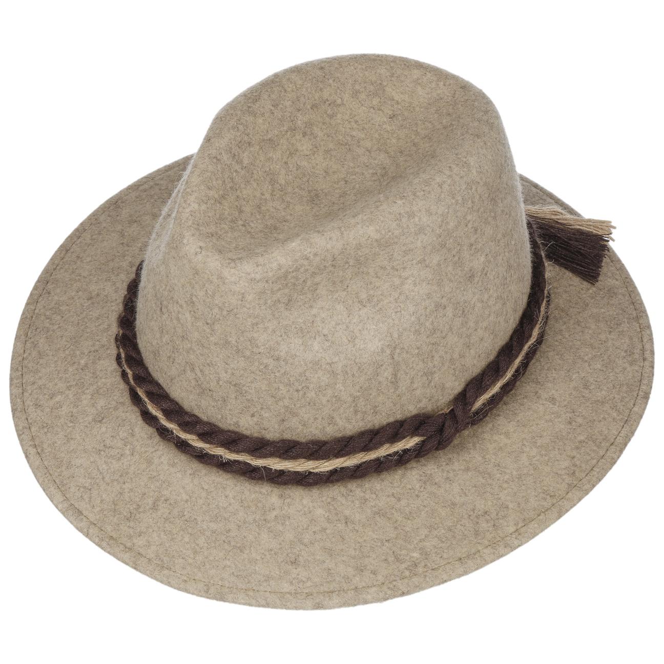 Sombrero Tradicional de Fieltro de Lana - Sombreros - sombreroshop.es ffe28fbf838