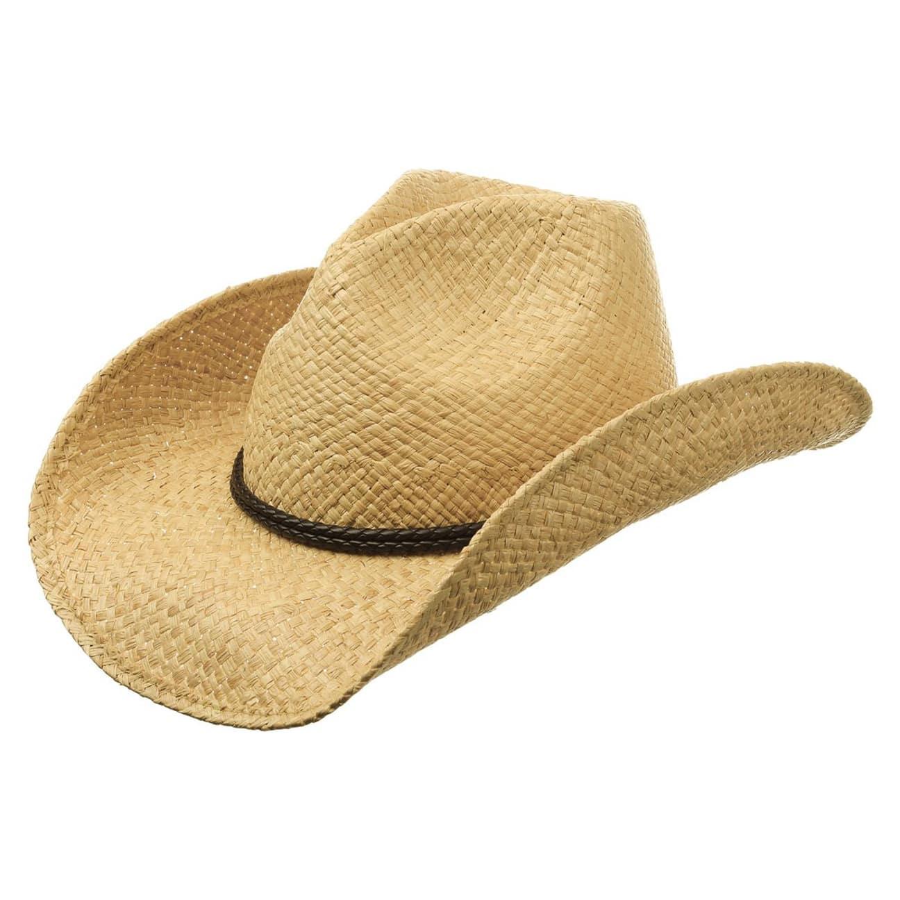 0eb875a6c75c6 Sombrero Travilah Rafia Cowboy by Stetson - Sombreros - sombreroshop.es