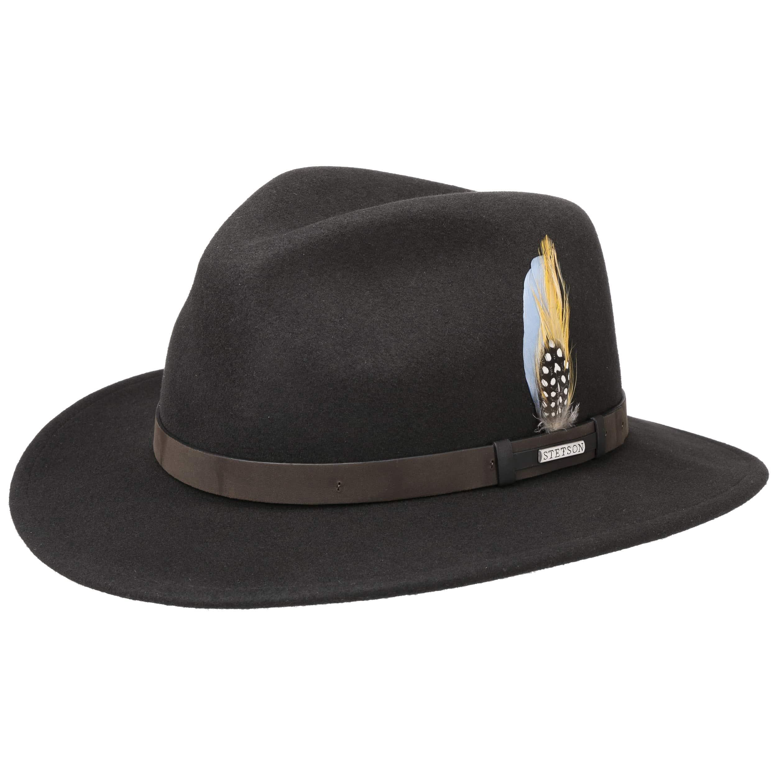 ... Sombrero VitaFelt Sardis by Stetson - marrón oscuro 4 ... c64236ff1905