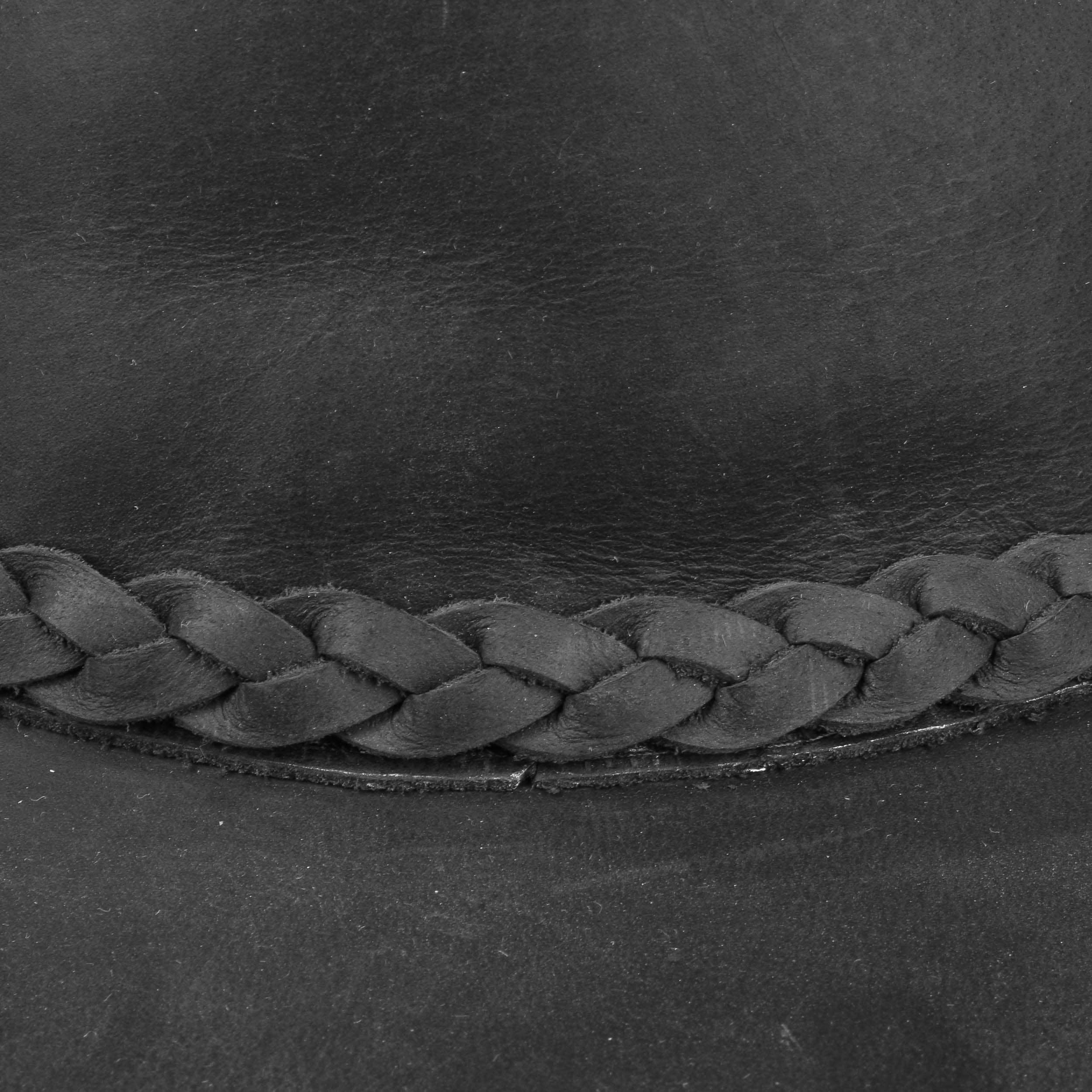 1ff4c1f35b6b2 ... Sombrero Western Buffalo Leather by Stetson - marrón oscuro 4 ...