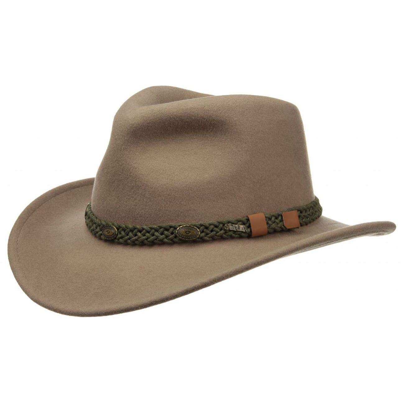 b93d3299227d6 Sombrero Western de Fieltro Putty Outback - Sombreros - sombreroshop.es
