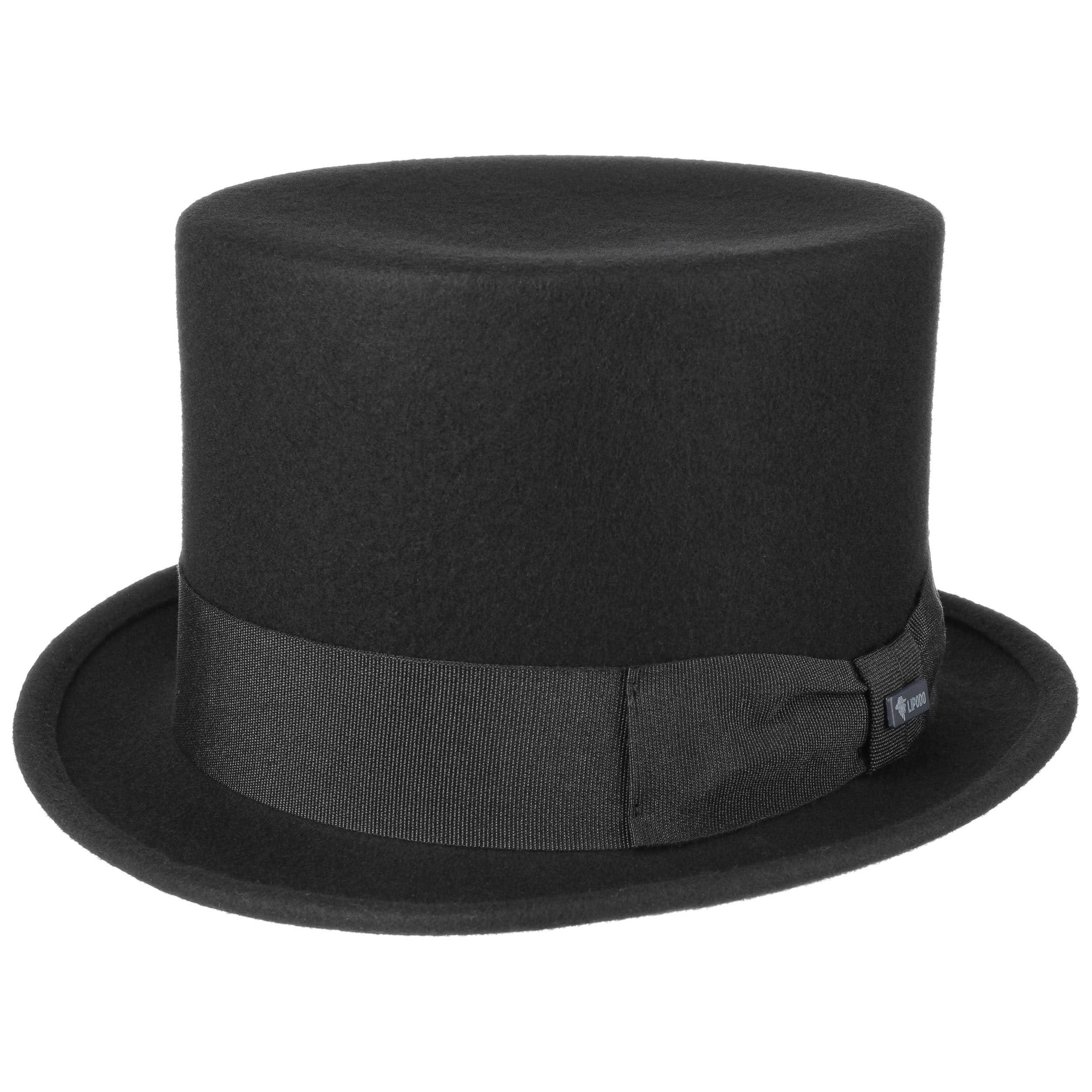 Sombrero de Copa Alta Fieltro by Lipodo - Sombreros - sombreroshop.es 259576bae3b