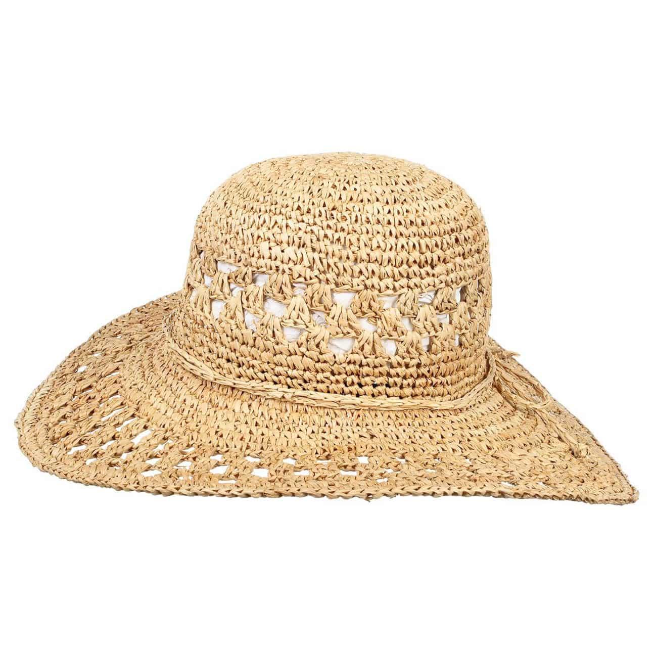 Sombrero de Crochet de Rafia Beach - Sombreros - sombreroshop.es c9f0e921f2bb