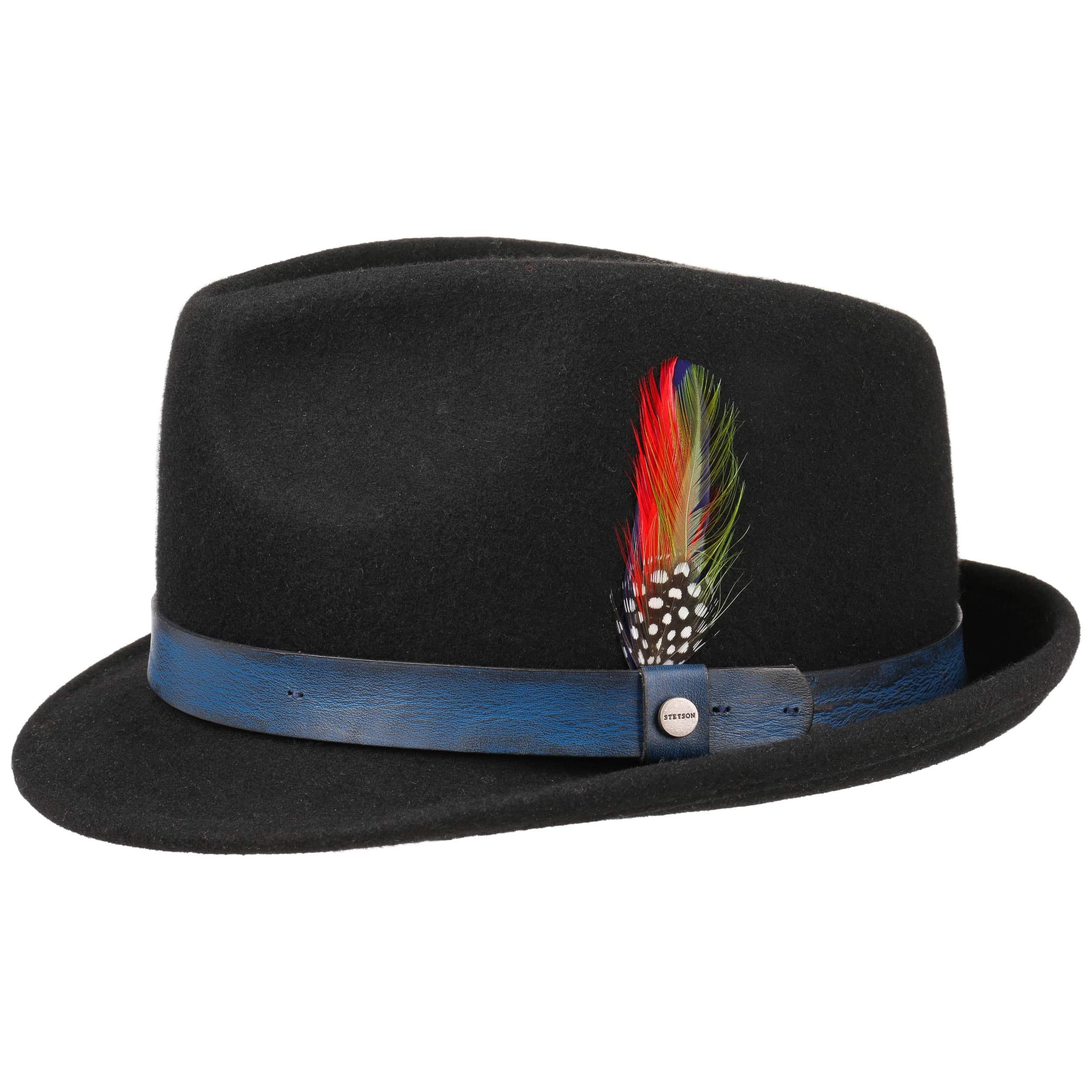 Sombrero de Fieltro Craston Trilby by Stetson - Sombreros ... a1d0541ec76