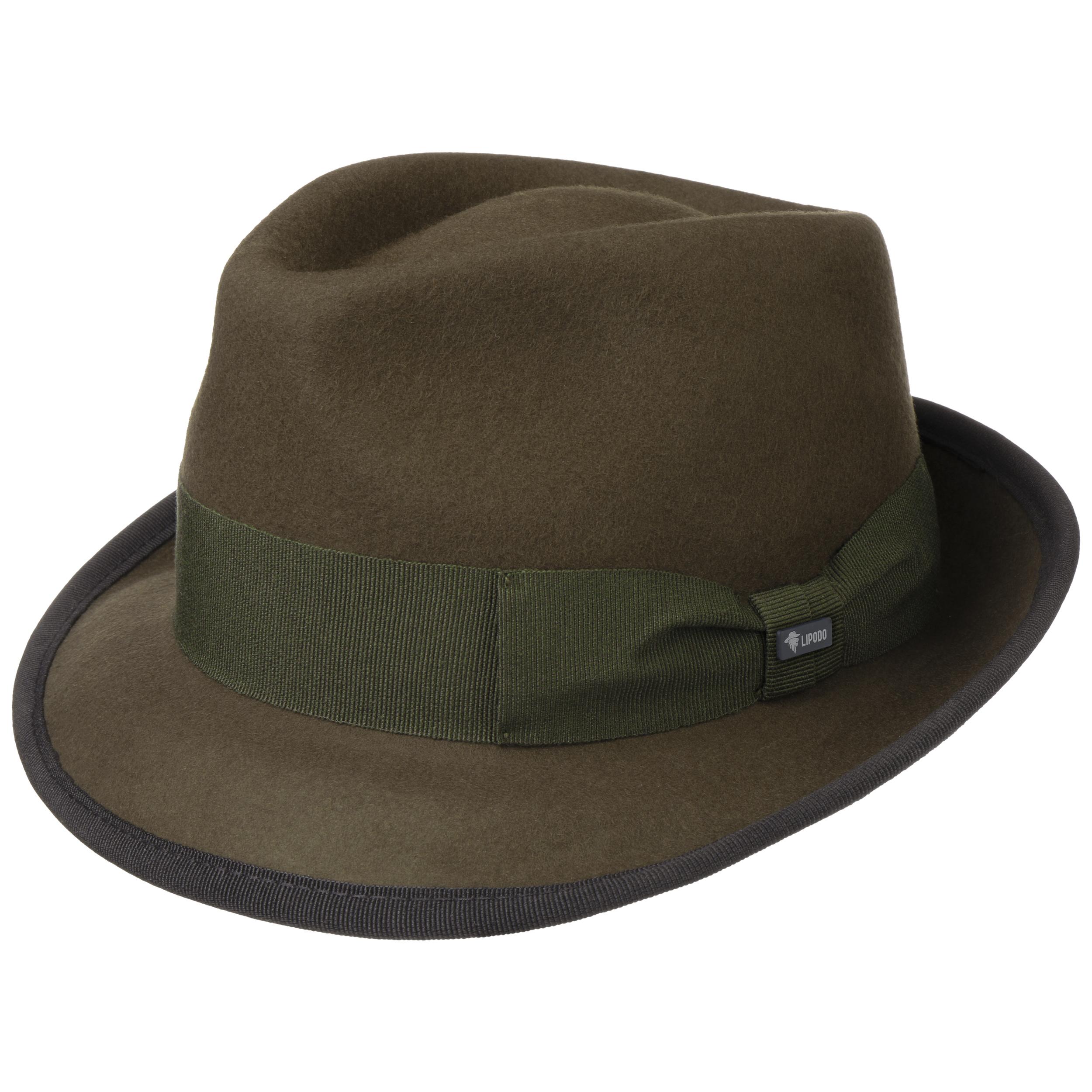 ... Lipodo 1 · Sombrero de Fieltro The Classic by Lipodo - verde oliva 4 ... 4ab5e97e15c