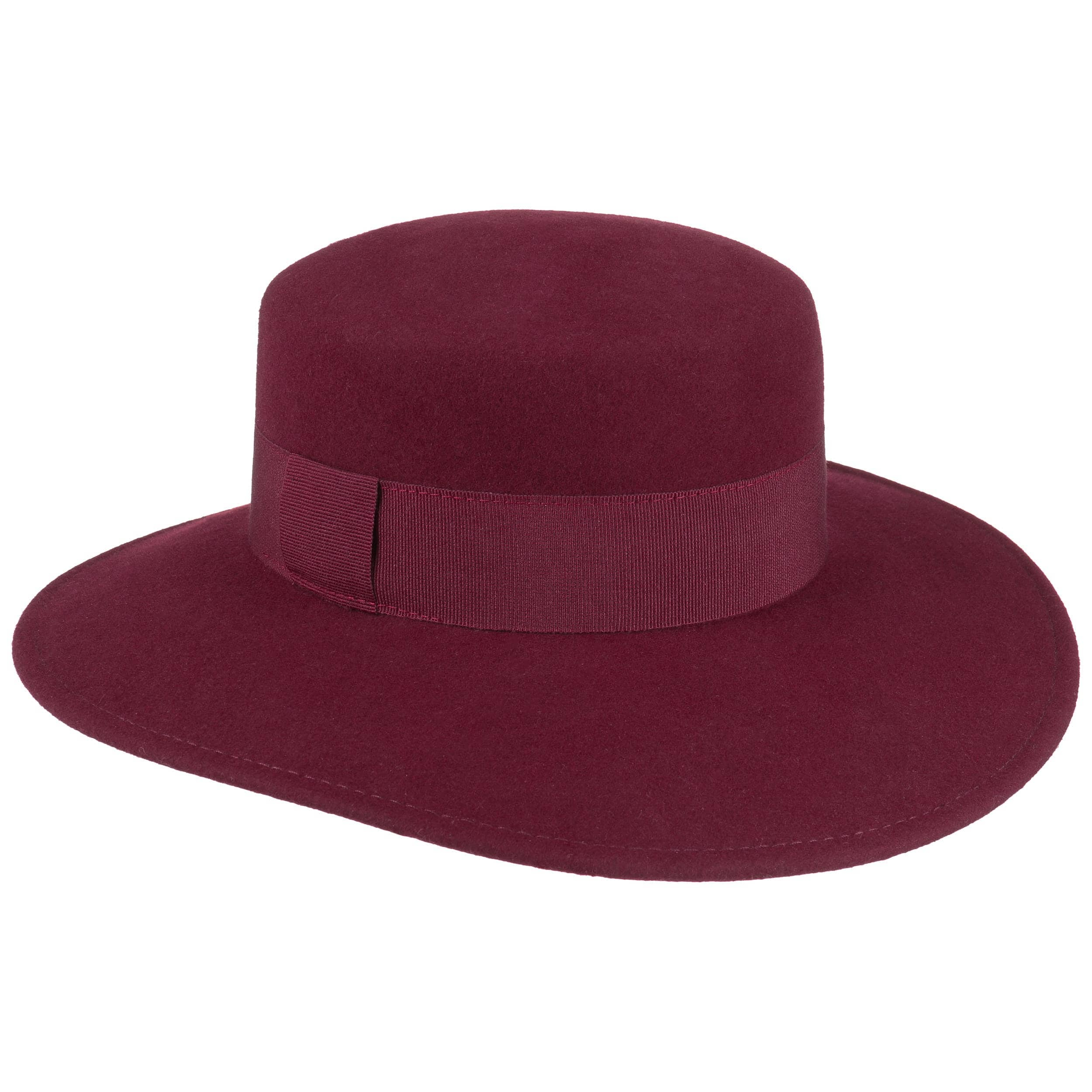 9ad530561577e Sombrero de Fieltro de Mujer Lasunja - Sombreros - sombreroshop.es
