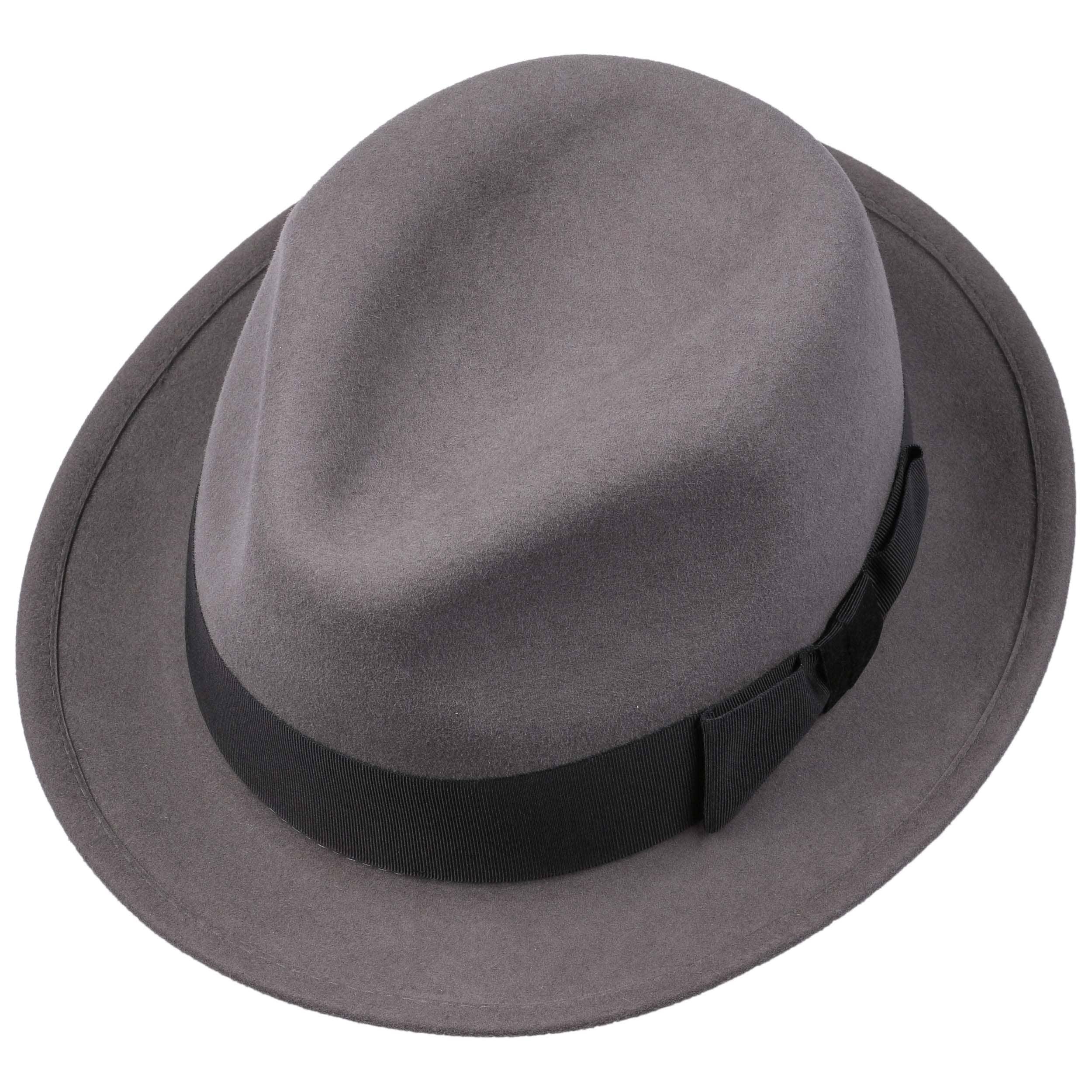 Sombrero de Fieltro de Pelo Marico by Stetson - gris 1 ... b0a06356e9e