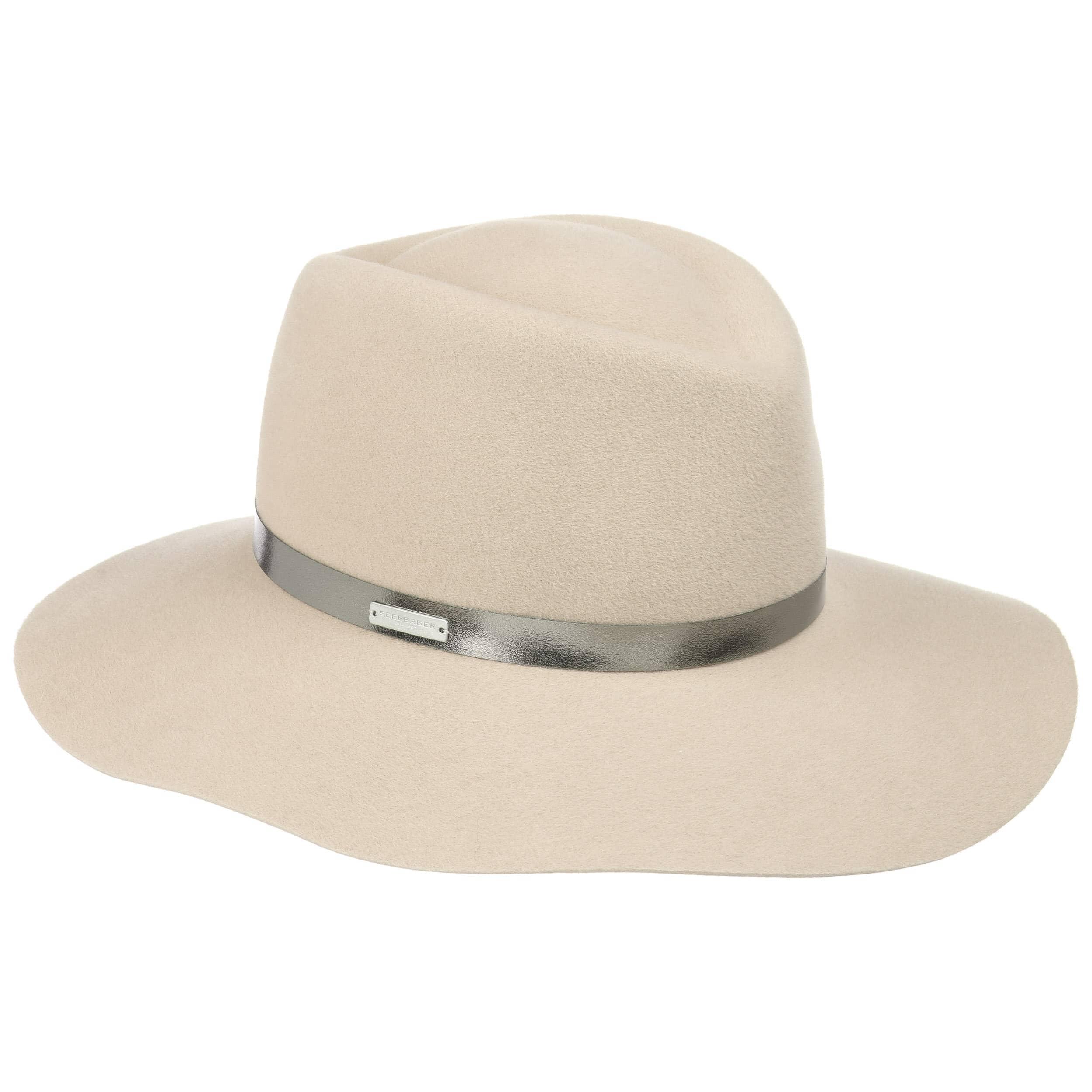 Sombrero de Fieltro de Pelo Velours by Seeberger - Sombreros ...