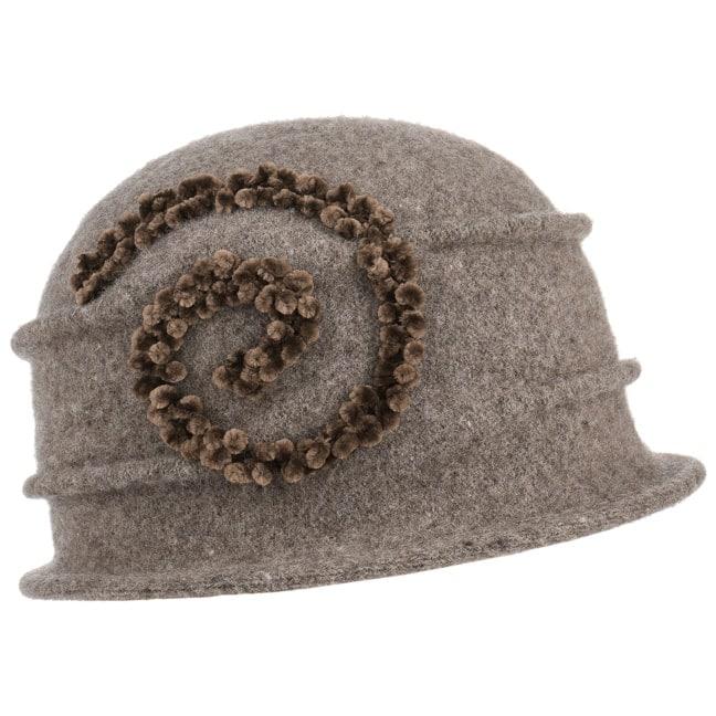 Sombrero de Lana Hervida Chenille by Seeberger - Sombreros ... 0c23c8ea1b1