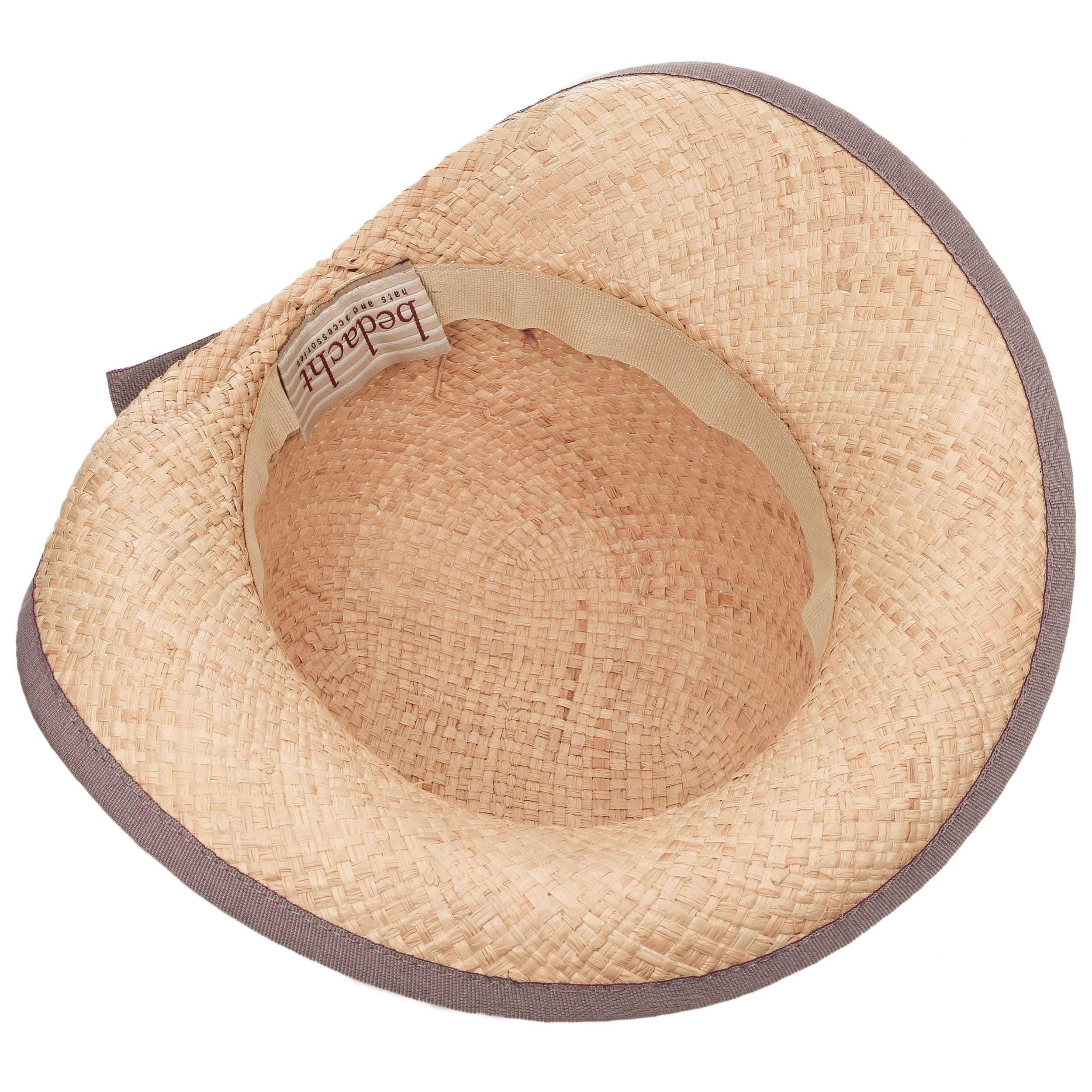 Sombrero de mujer fanamia rafia bedacht natural lila claro jpg 2500x2500 Rafia  sombreros de hombre ef27811d2df