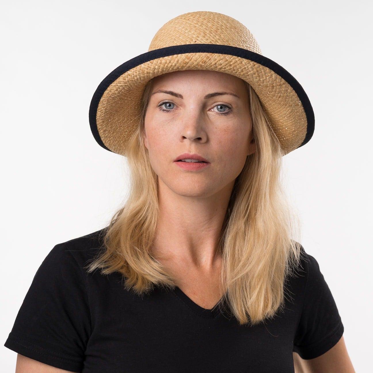 Sombrero de Mujer Fanamia Rafia by bedacht - Sombreros - sombreroshop.es b62cb9d048a4