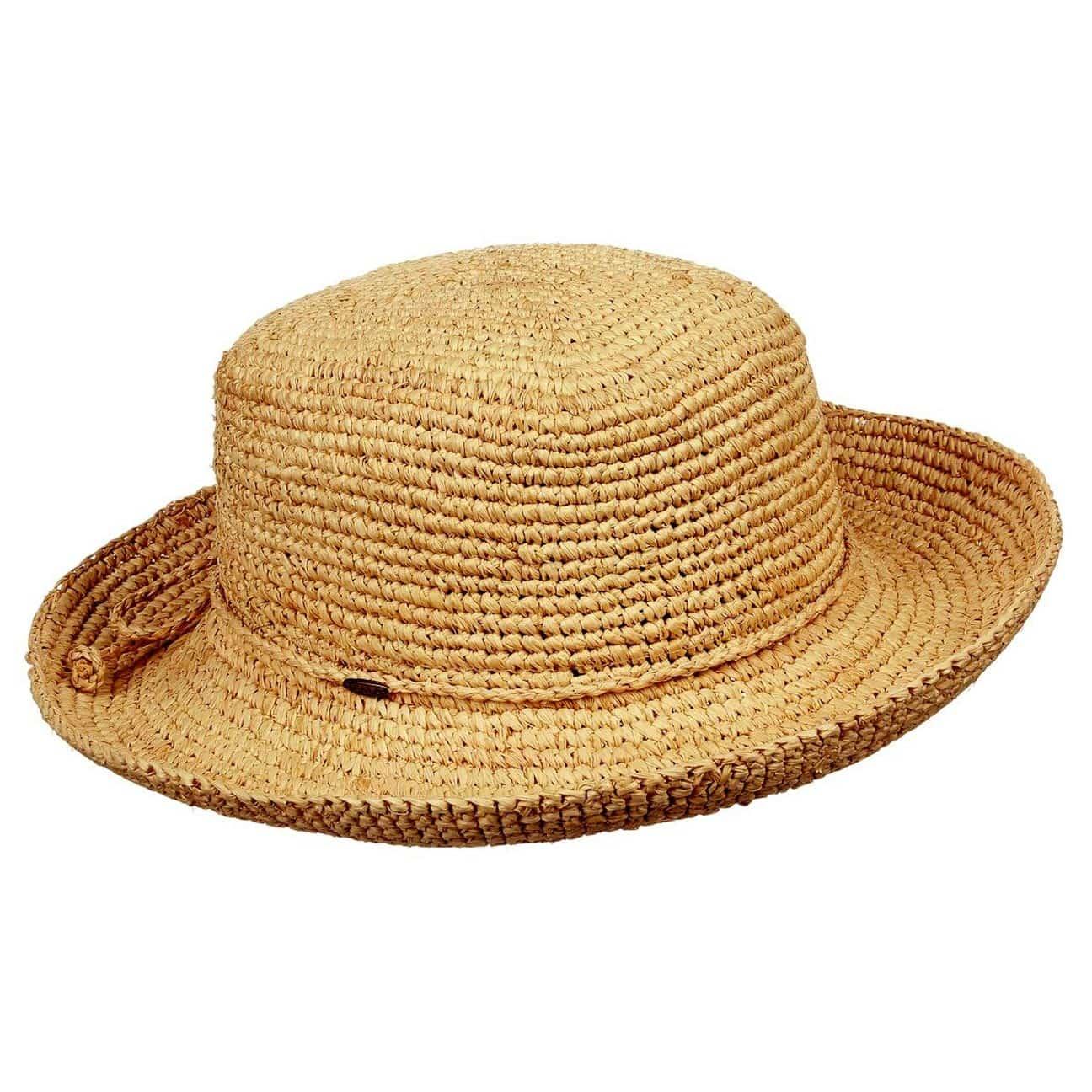 Sombrero de Mujer de Rafia de Crochet - Sombreros - sombreroshop.es 650a54fddaf