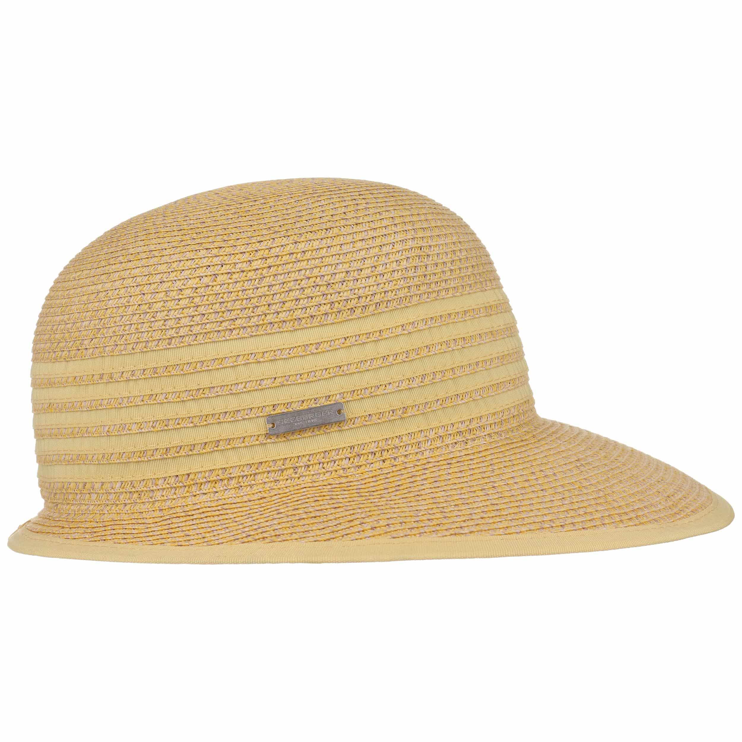 Sombrero de Paja Isa Twotone by Seeberger - Sombreros - sombreroshop.es 3e3bf650a6e