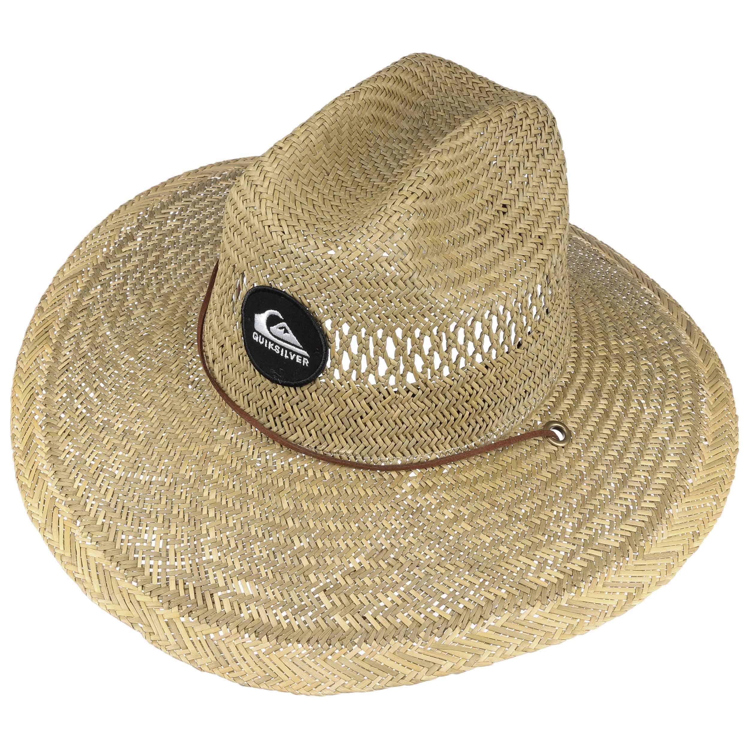 Sombrero de Paja Lifeguard Pierside by Quiksilver - Sombreros ... 1f3eb2504c6