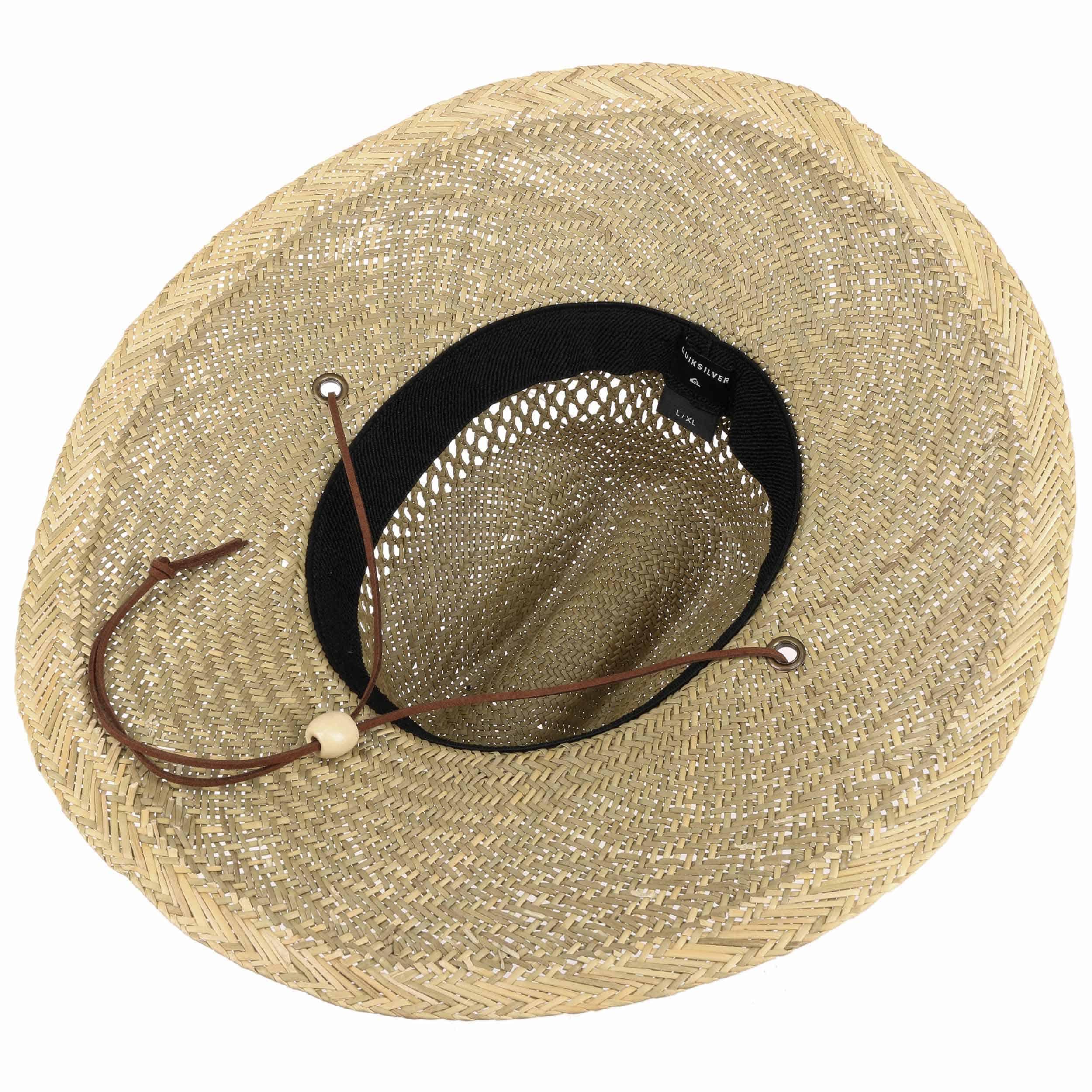 ... Sombrero de Paja Lifeguard Pierside by Quiksilver - natural 2 ... a4f5d21e07b