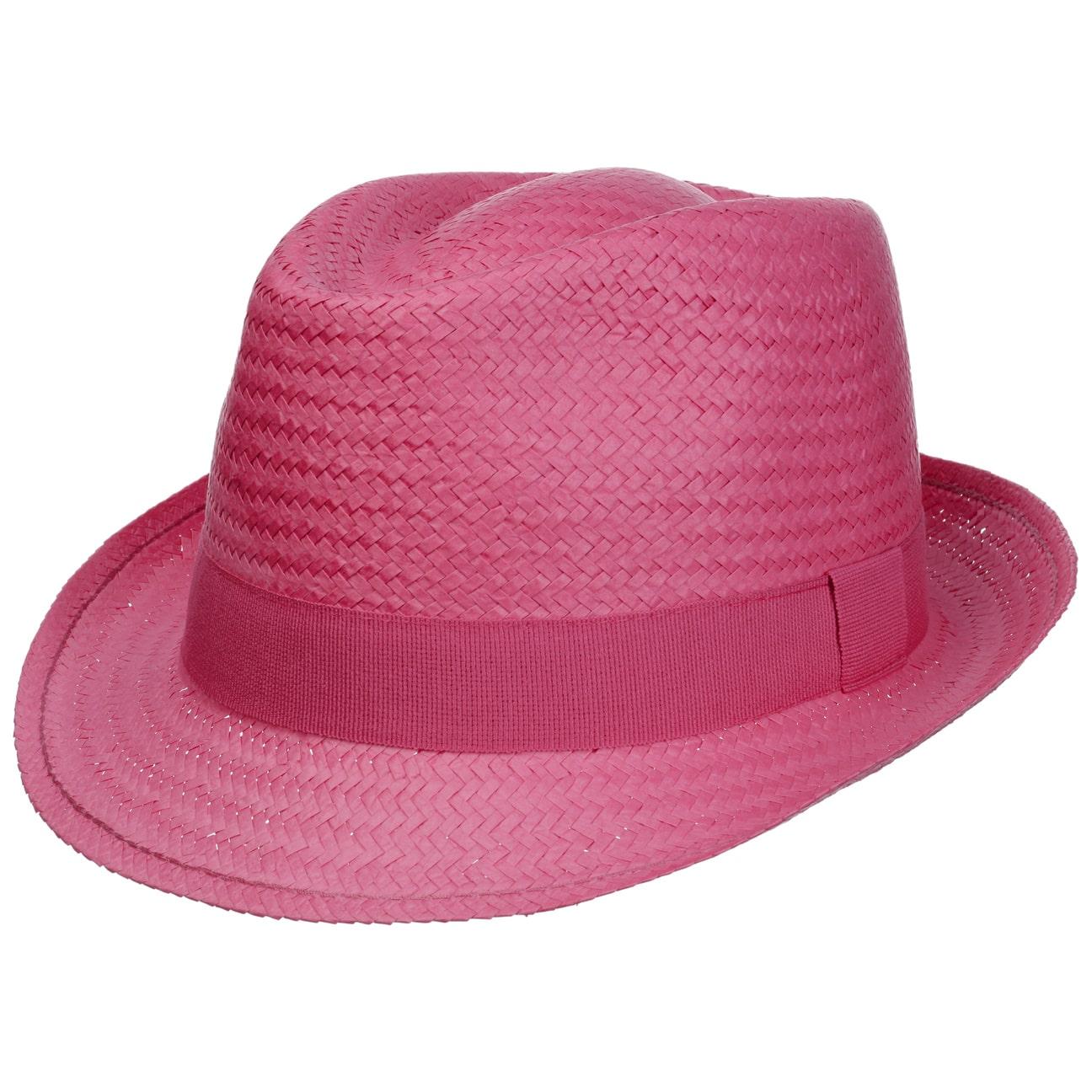 Sombrero de Paja Málaga Trilby - Sombreros - sombreroshop.es 90e442cc0ec