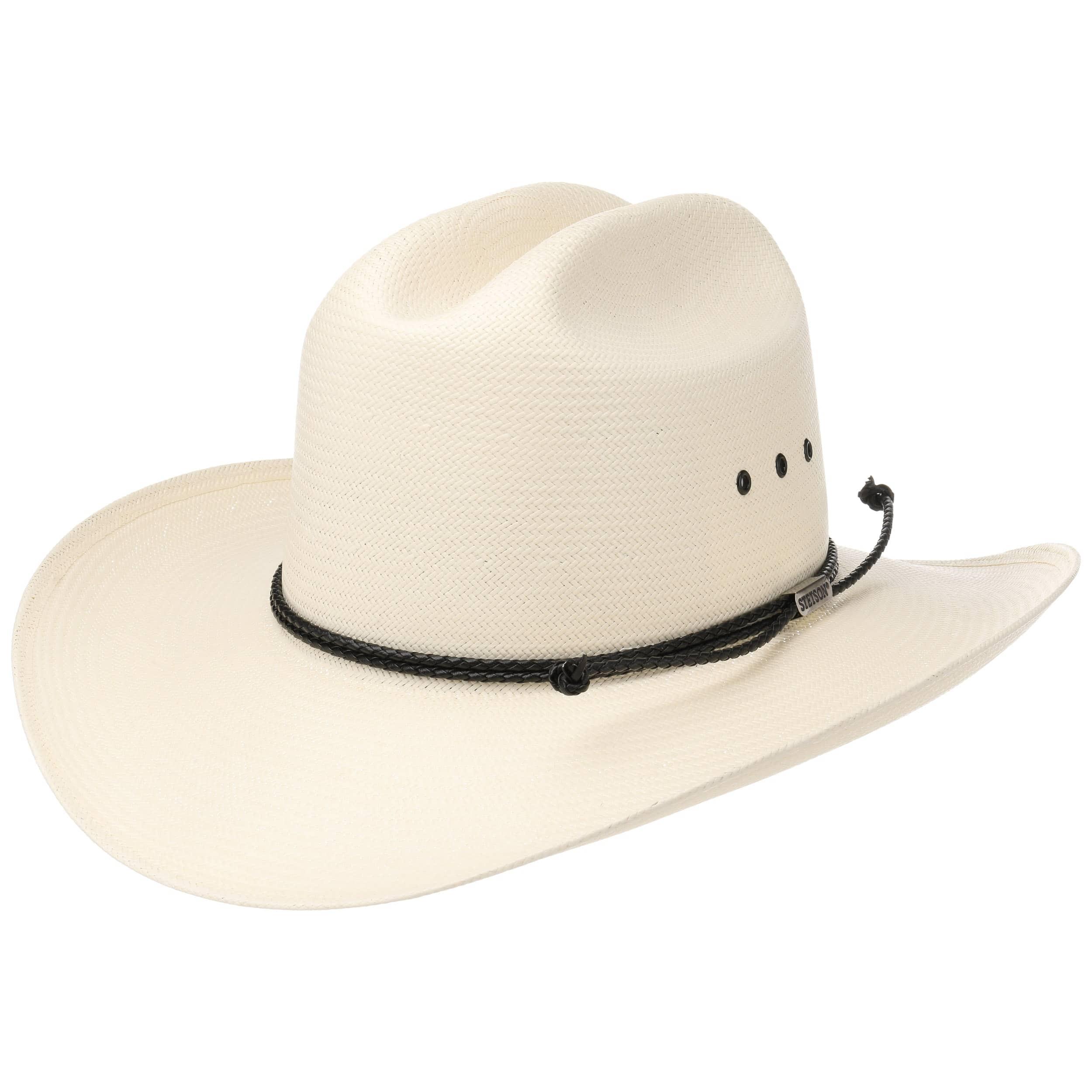 ... Sombrero de Paja Oeste Comfort 10X by Stetson - blanco crema 5 30b754b84f8
