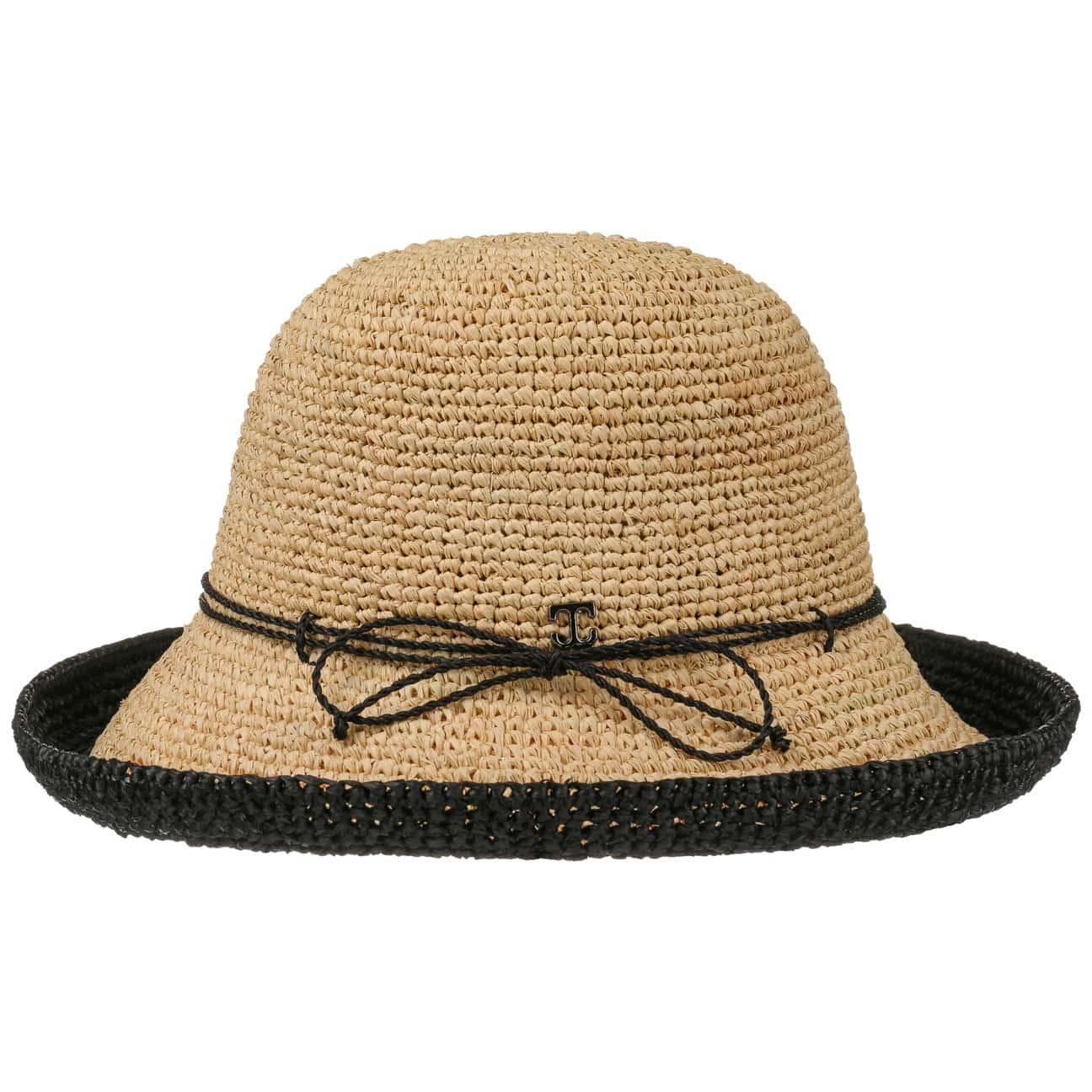 Sombrero de Paja Rafia Jaluma Bicolour - Sombreros - sombreroshop.es 248d4104876