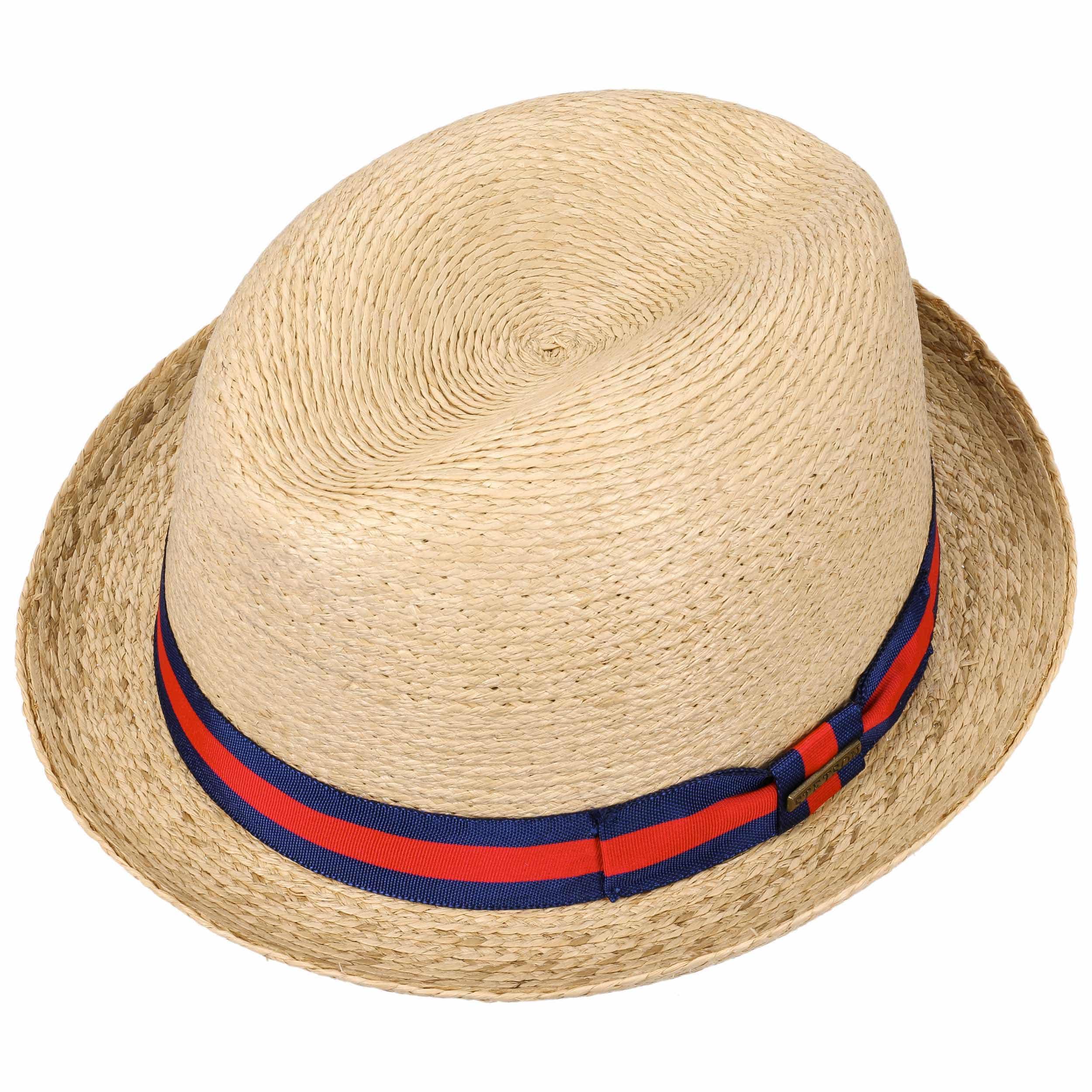 Sombrero de Paja Renton Rafia by Stetson - Sombreros - sombreroshop.es 321485c51d3