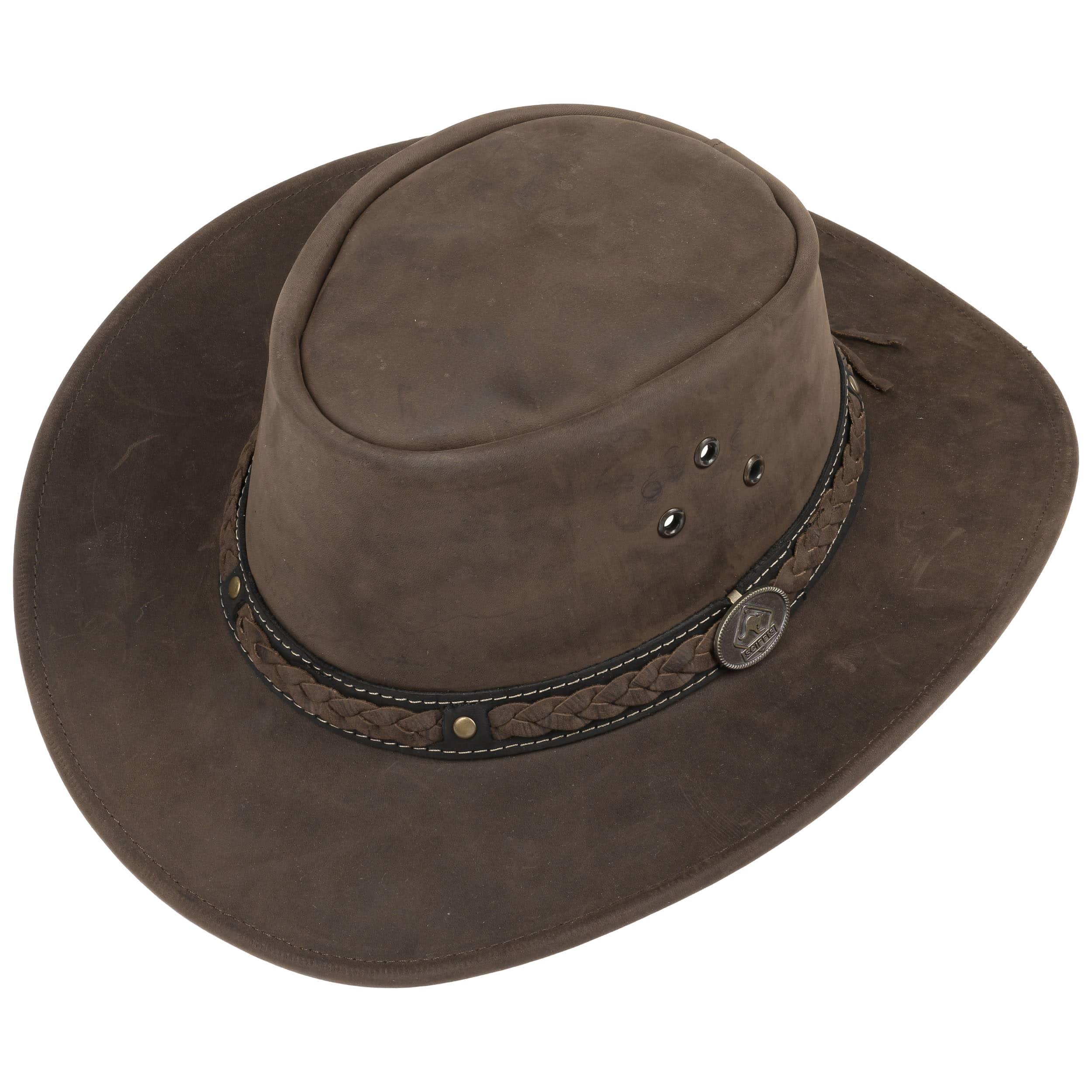 Sombrero de Piel Albury Stonewashed by Scippis - Sombreros ... f2eb13b4755